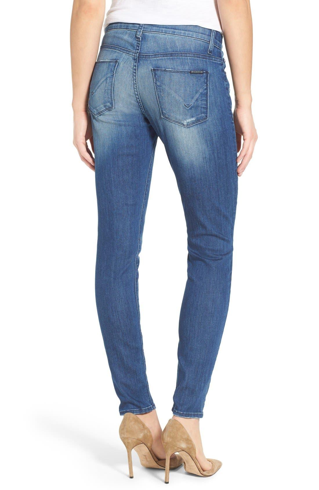 'Nico' Super Skinny Jeans,                             Alternate thumbnail 16, color,
