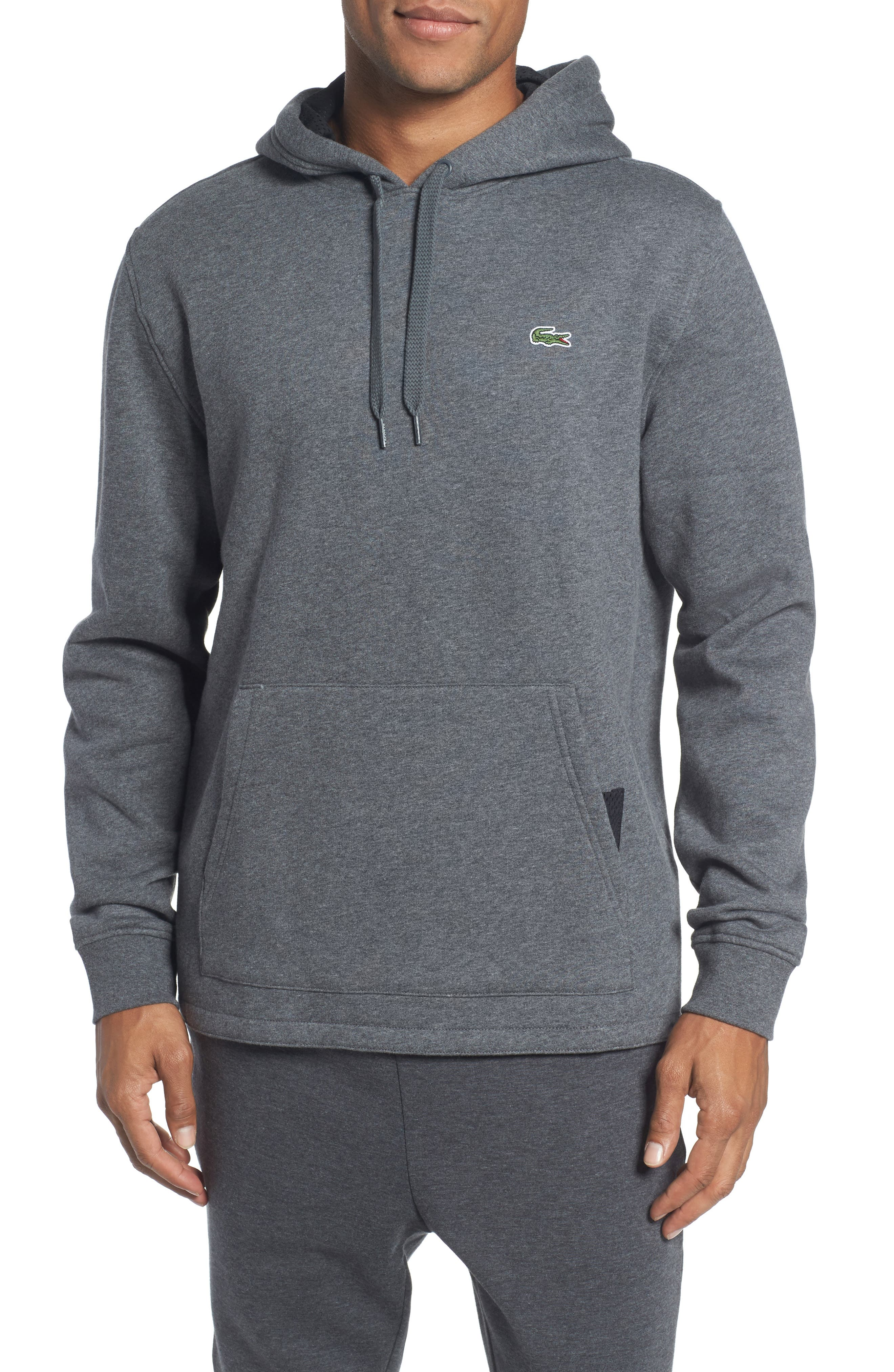 Brushed Fleece Logo Hoodie,                         Main,                         color,