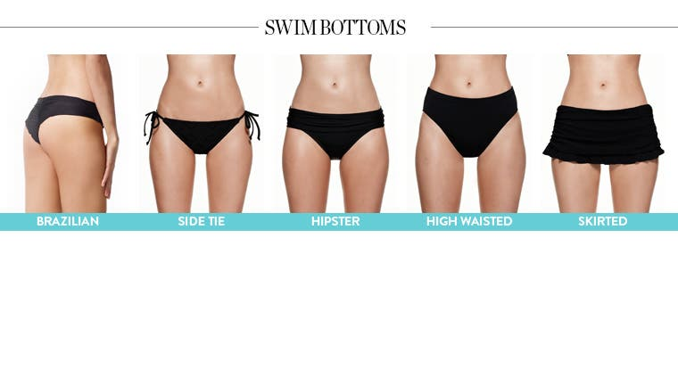Different Types of Swimsuit Styles