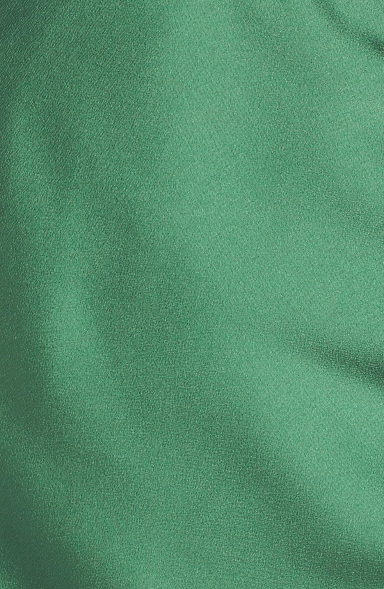 I've Got You Asymmetrical Satin Dress,                             Alternate thumbnail 5, color,                             310