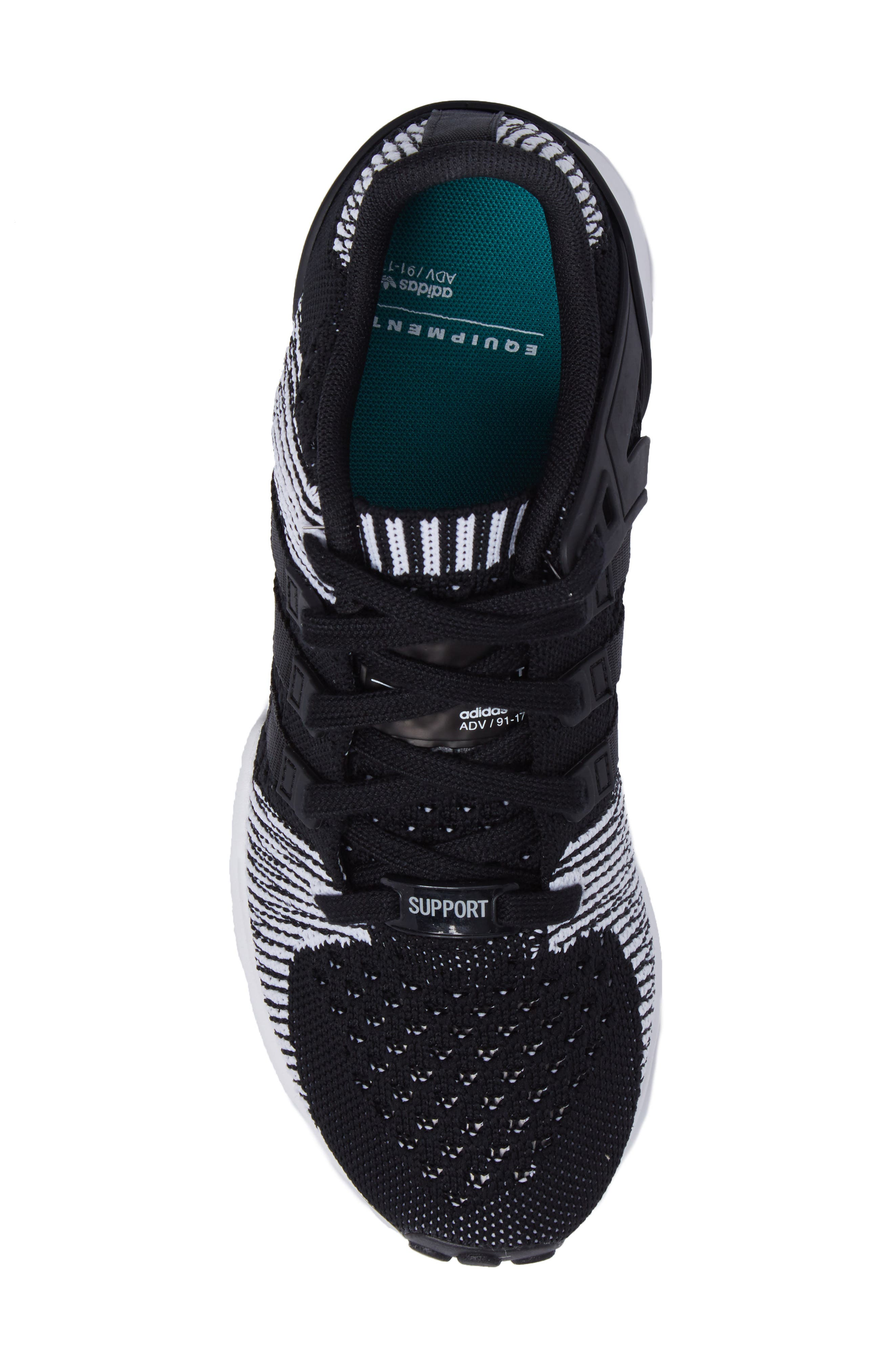EQT Support RF PK Sneaker,                             Alternate thumbnail 5, color,                             001