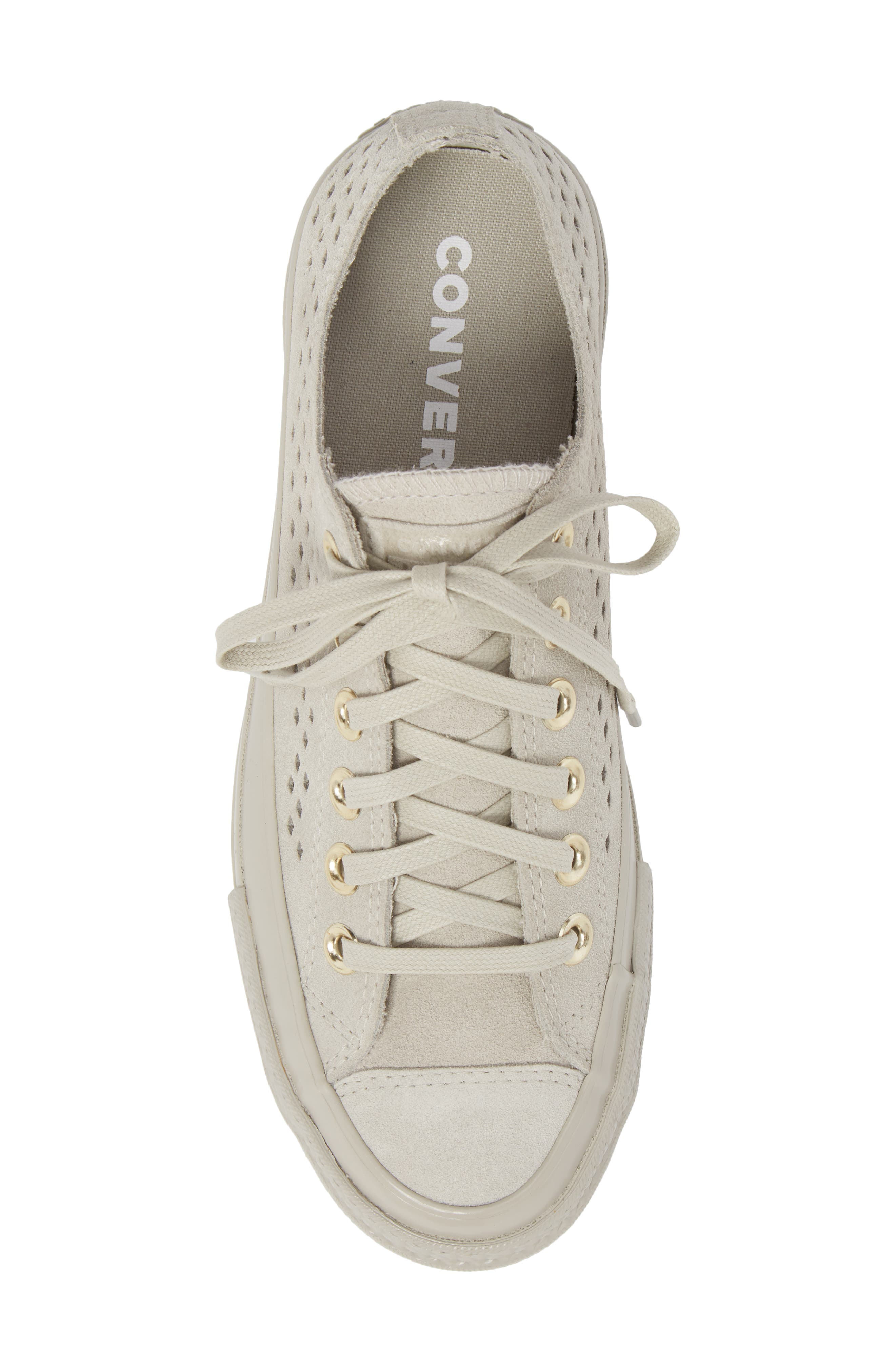 Chuck Taylor<sup>®</sup> All Star<sup>®</sup> Lift Ripple Sneaker,                             Alternate thumbnail 5, color,                             081