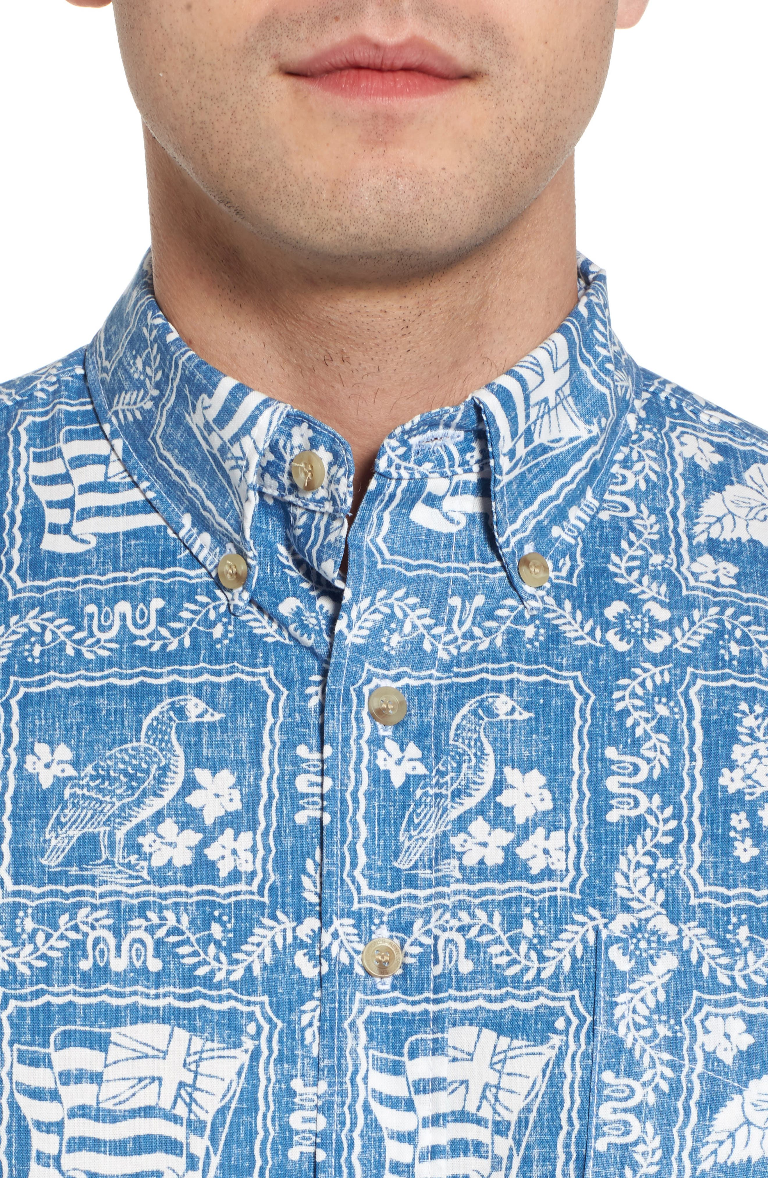 Lahaina Sailor Tailored Fit Sport Shirt,                             Alternate thumbnail 10, color,
