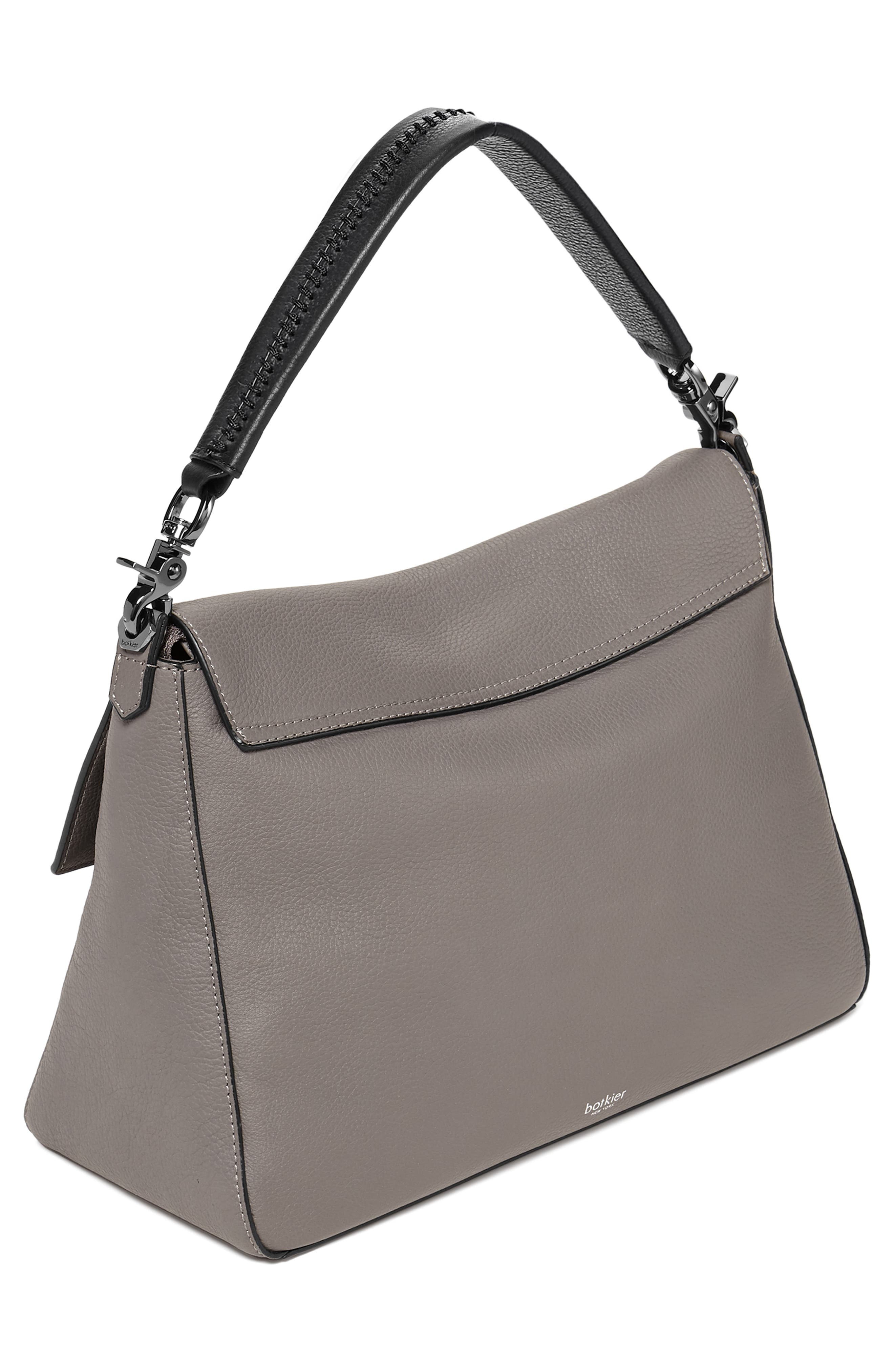 Cobble Hill Slouch Calfskin Leather Hobo,                             Alternate thumbnail 2, color,                             WINTER GREY