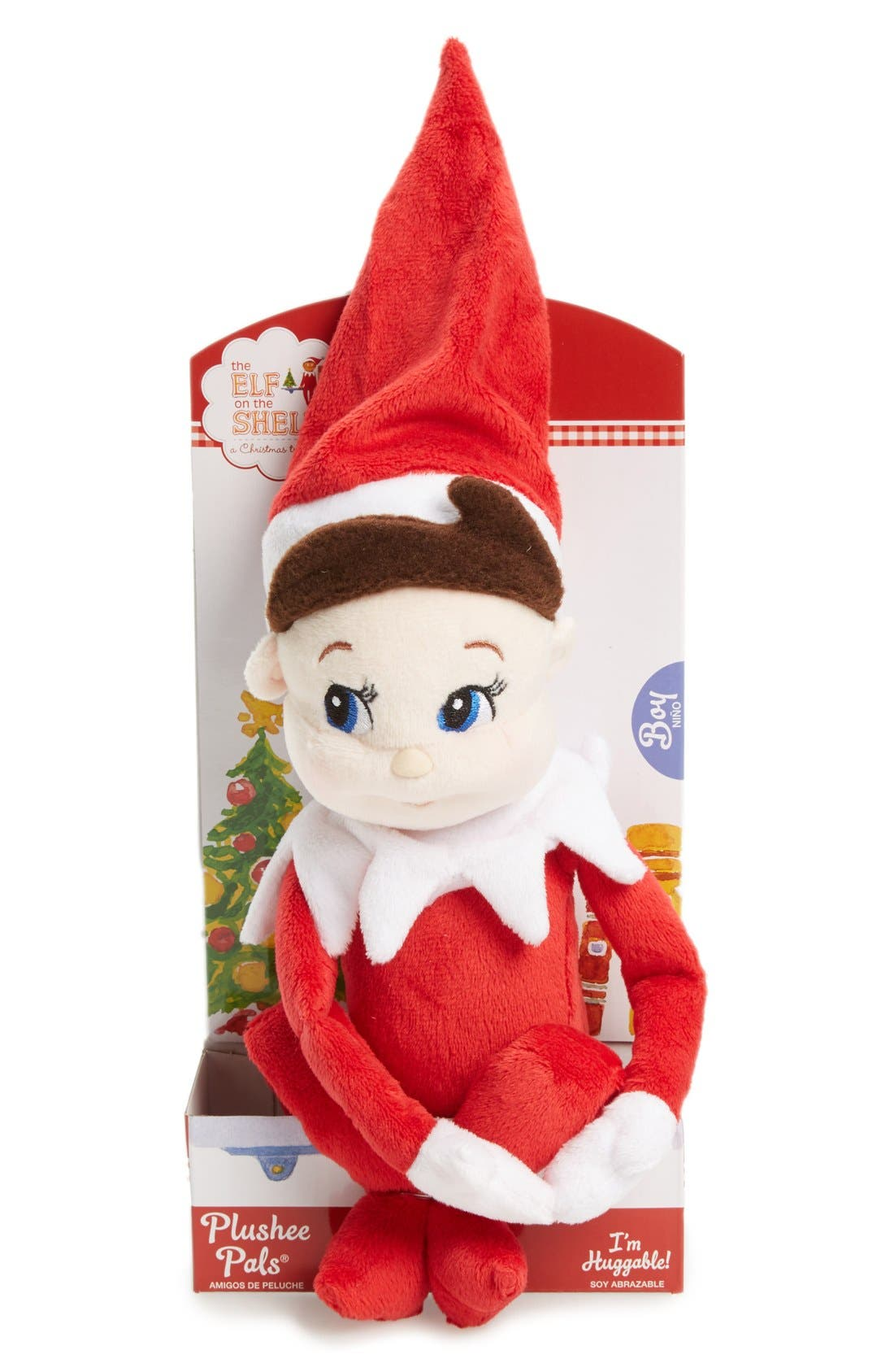 Plushee Pals<sup>®</sup> Boy Scout Elf,                         Main,                         color, RED