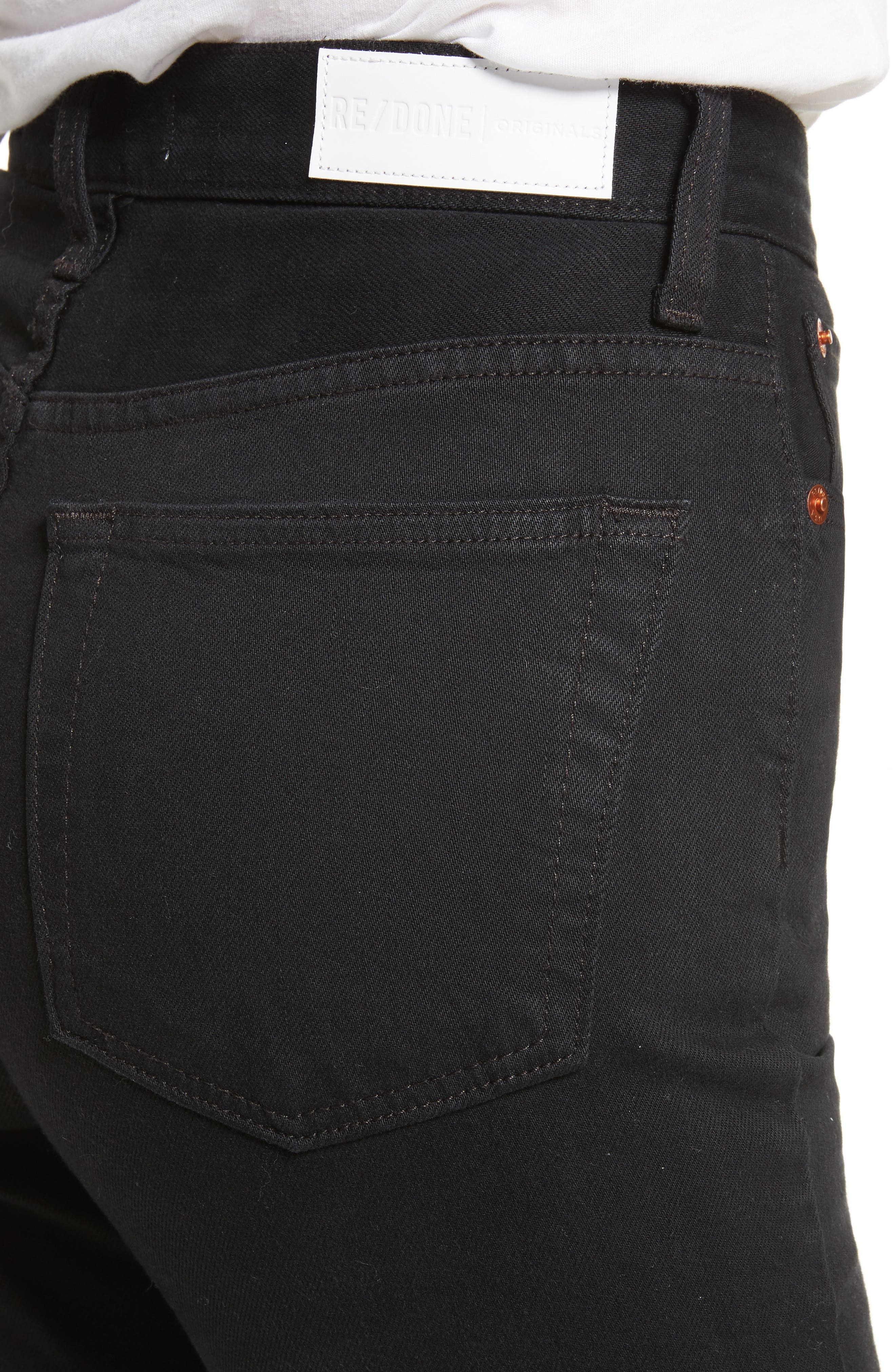 Originals Ultra High Waist Skinny Jeans,                             Alternate thumbnail 4, color,                             001