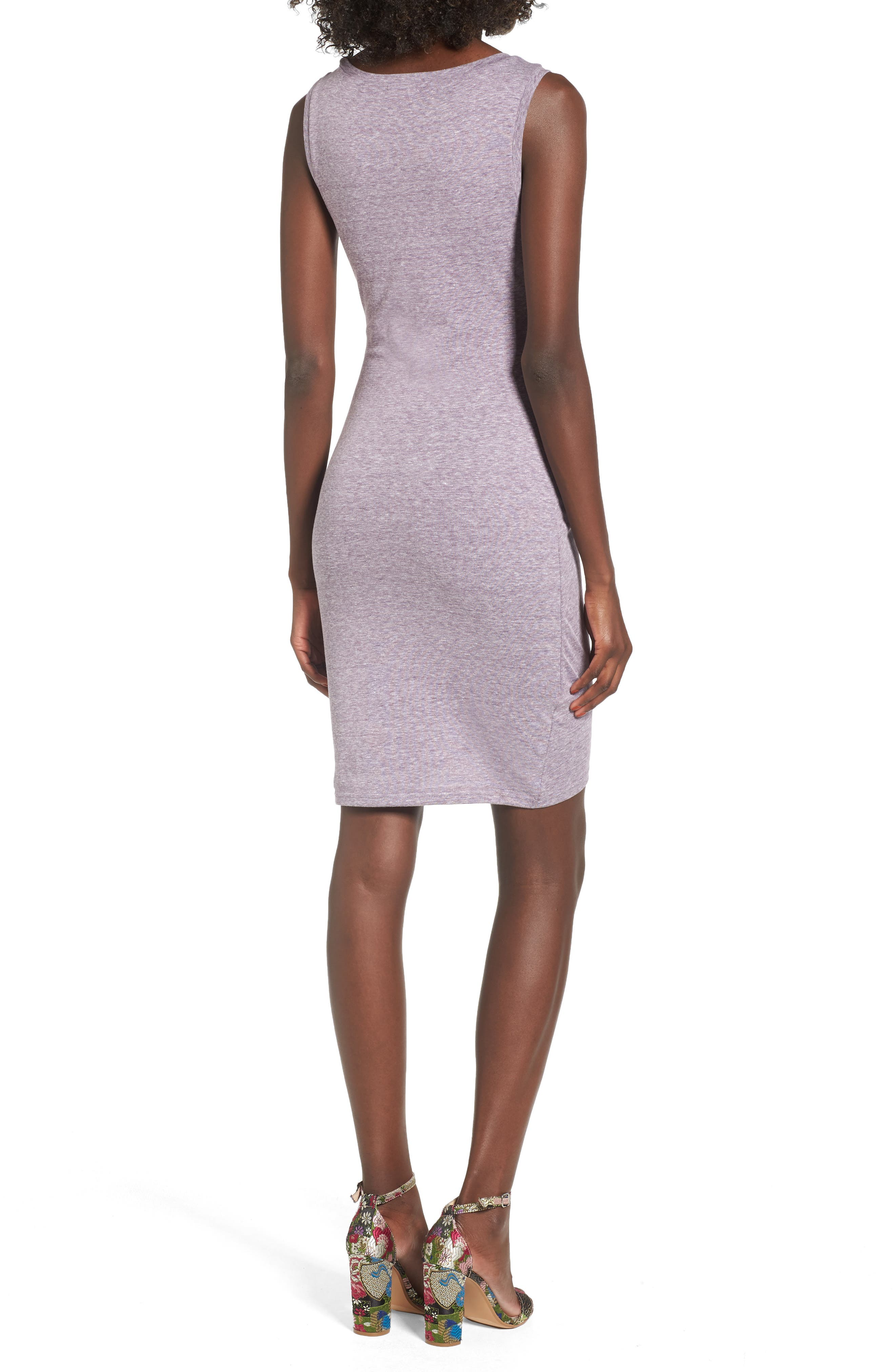 Ruched Body-Con Tank Dress,                             Alternate thumbnail 44, color,
