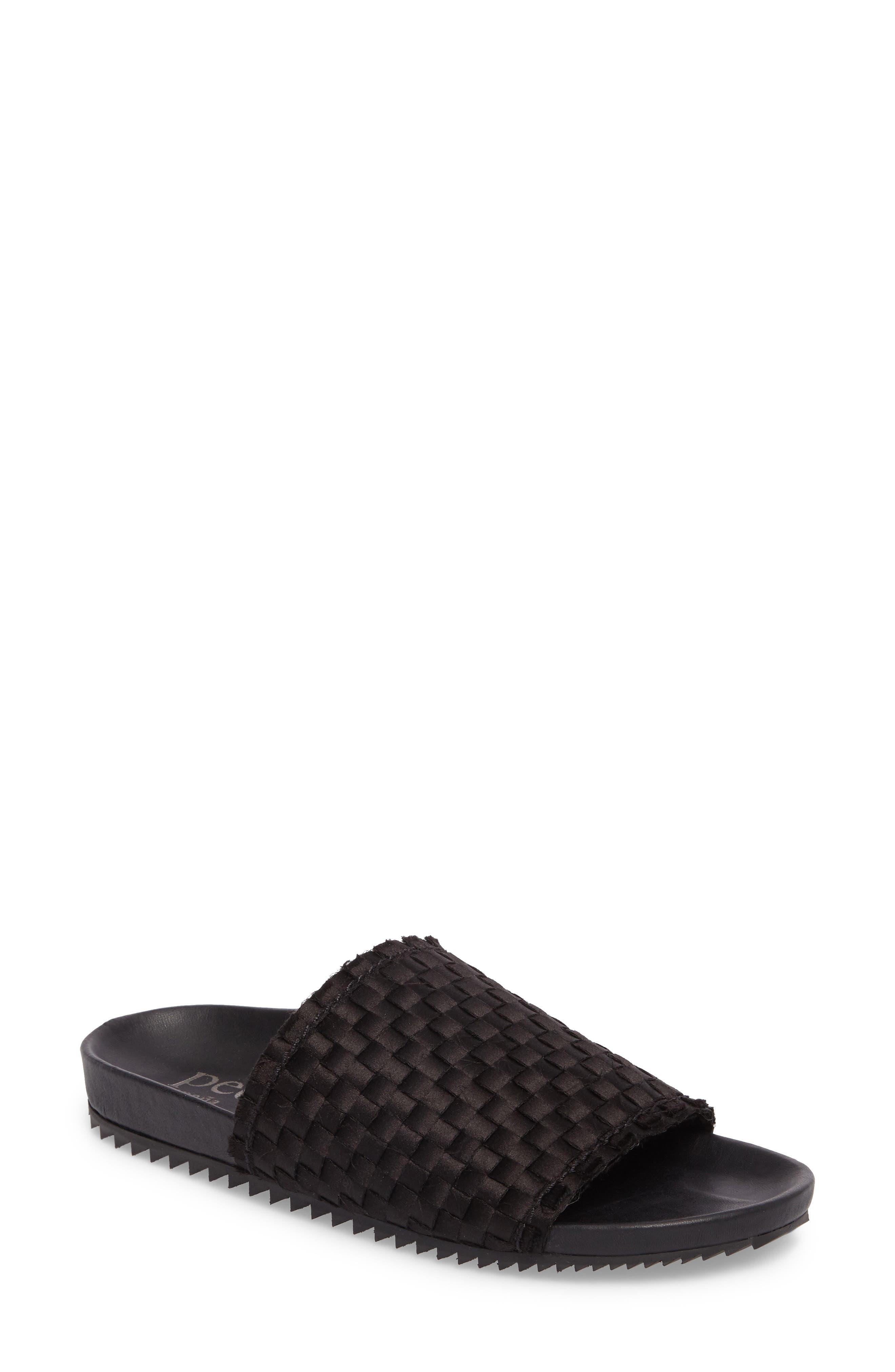 Aila Woven Slide Sandal,                         Main,                         color,