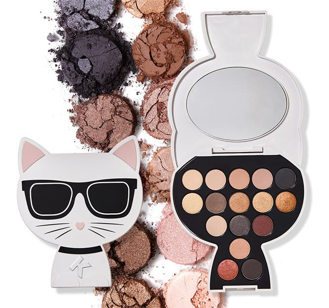 Karl Lagerfeld and ModelCo cat palette.