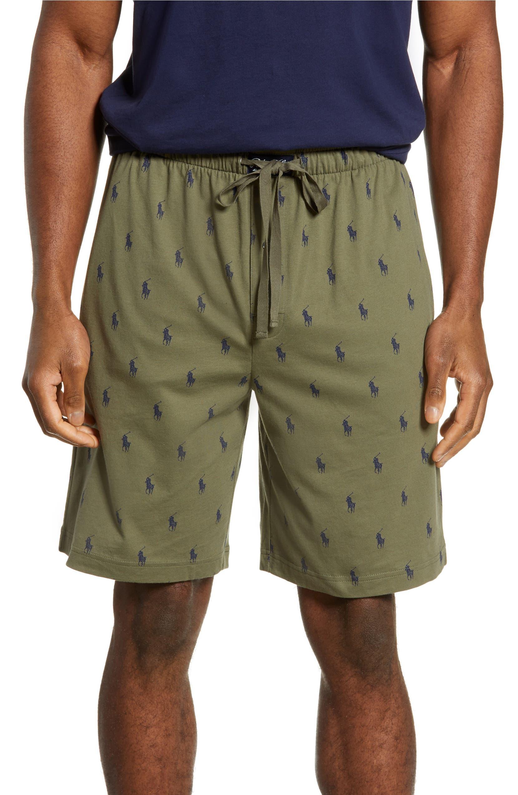 Polo Ralph Lauren Allover Print Knit Shorts Nordstrom