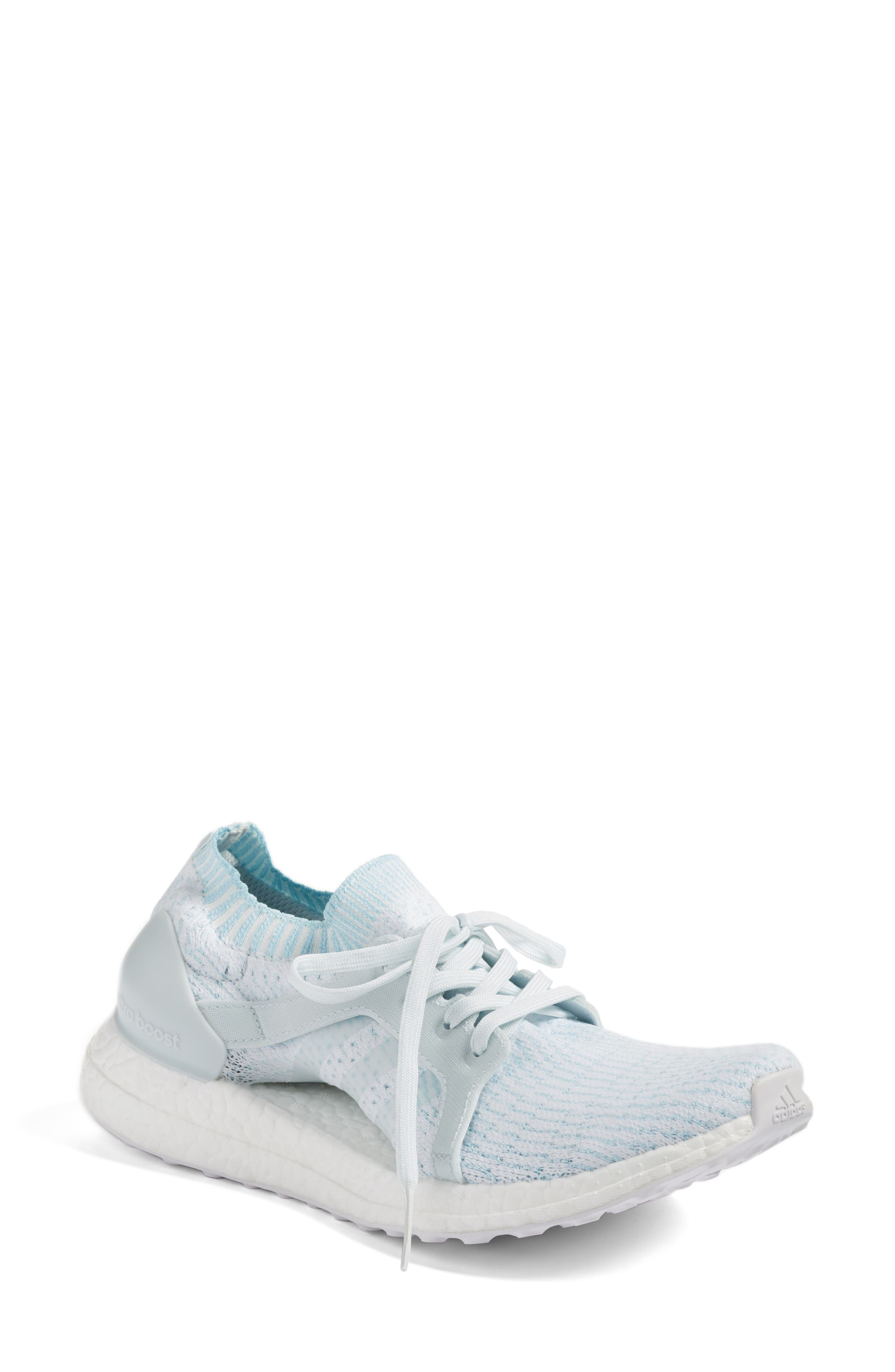 by Stella McCartney UltraBoost x Parley Running Shoe,                             Main thumbnail 3, color,