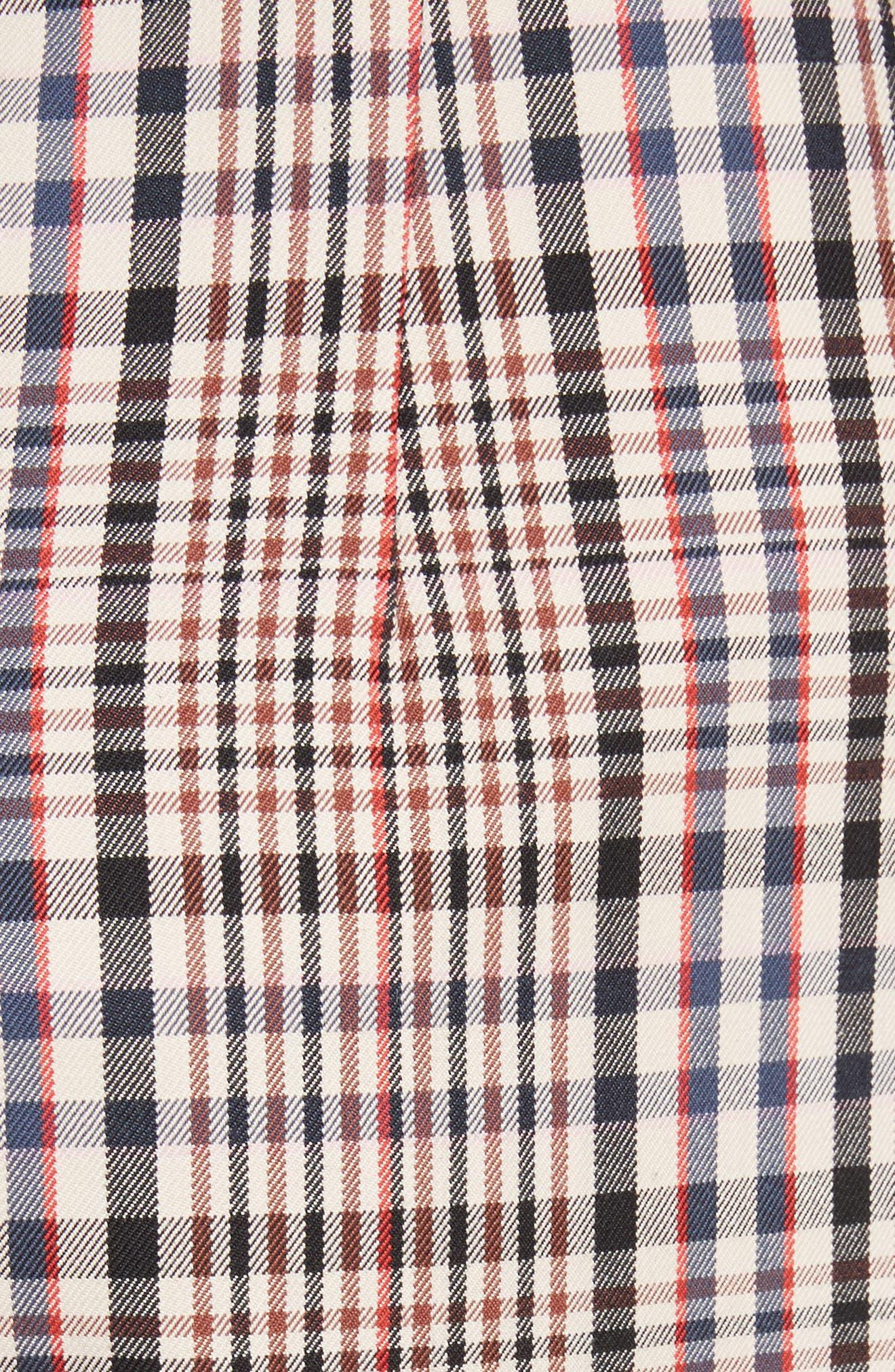 Classic Pantalone Crop Pants,                             Alternate thumbnail 5, color,