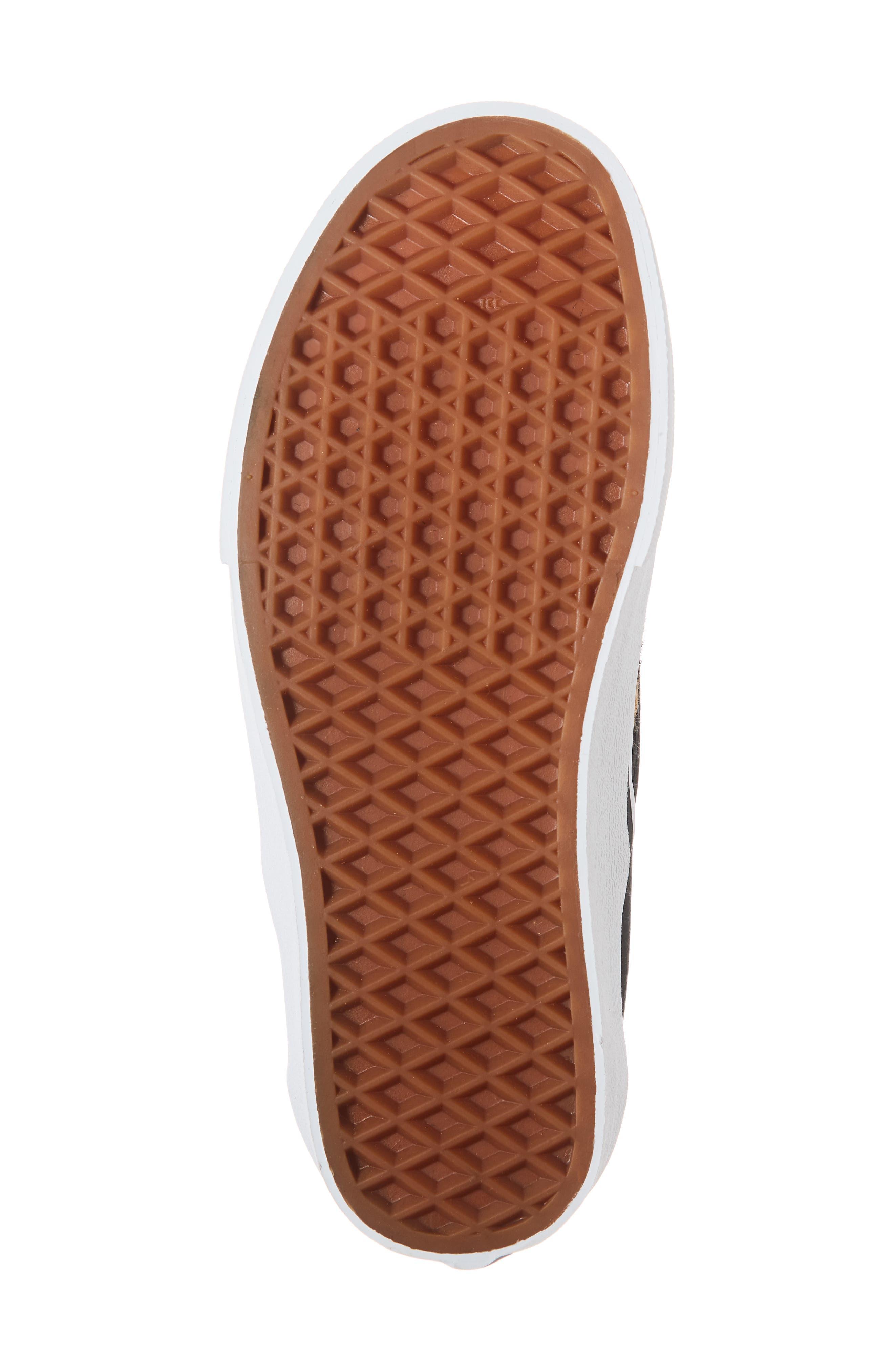 VANS,                             UA Classic Genuine Calf Hair Slip-On Sneaker,                             Alternate thumbnail 6, color,                             001
