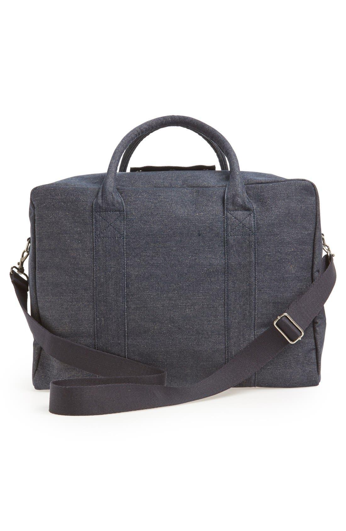 Denim Duffle Bag,                             Alternate thumbnail 4, color,                             461