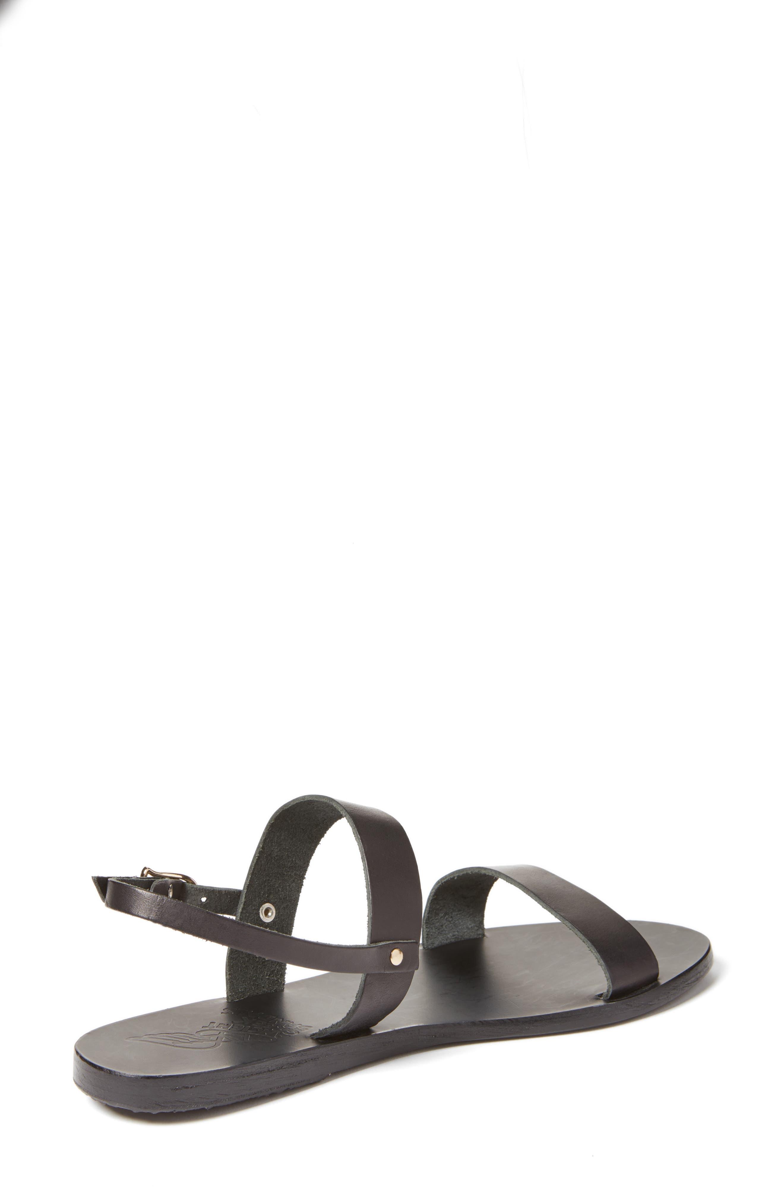 Clio Slingback Sandal,                             Alternate thumbnail 2, color,                             BLACK