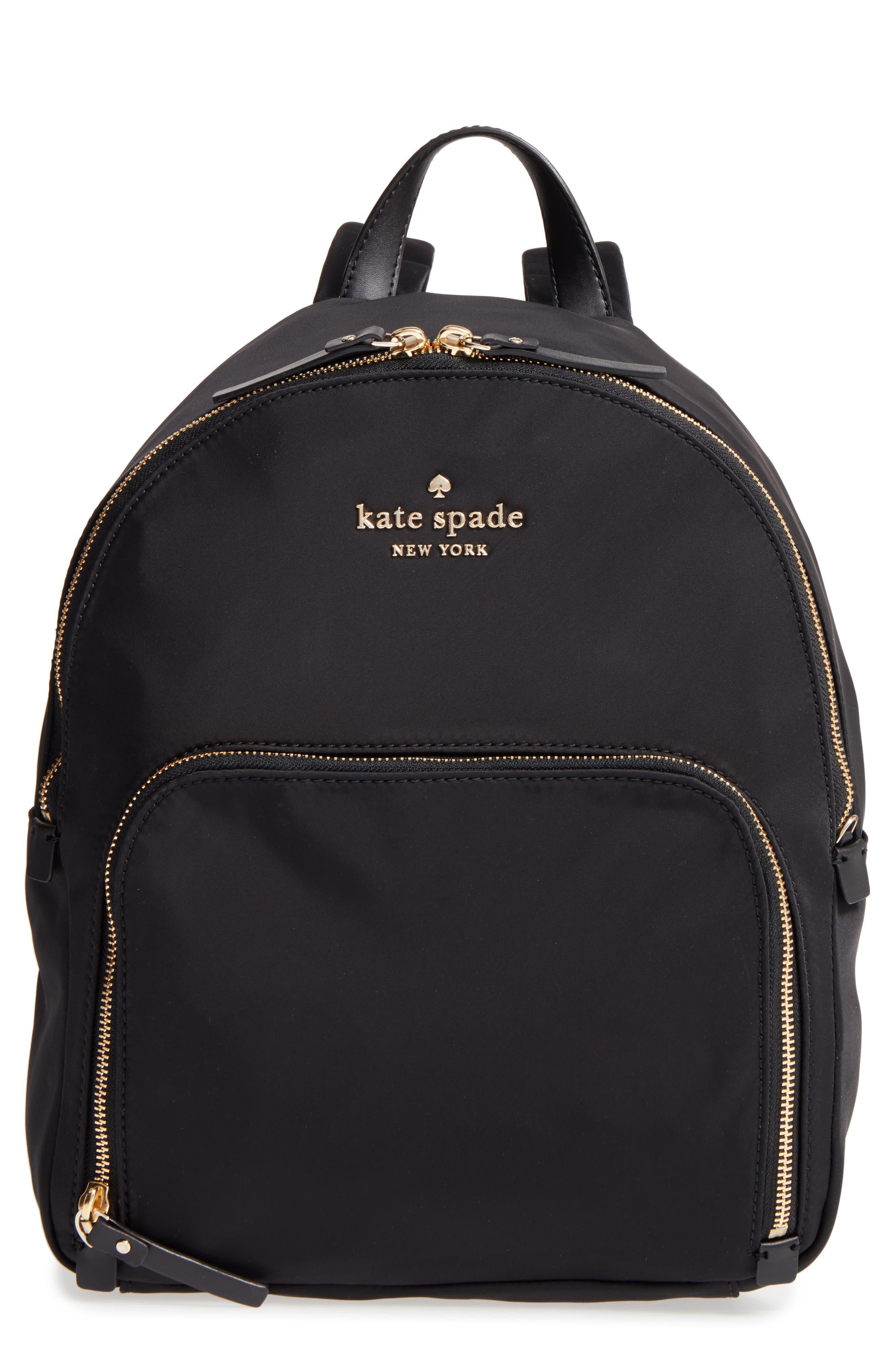 watson lane - hartley nylon backpack,                         Main,                         color, BLACK