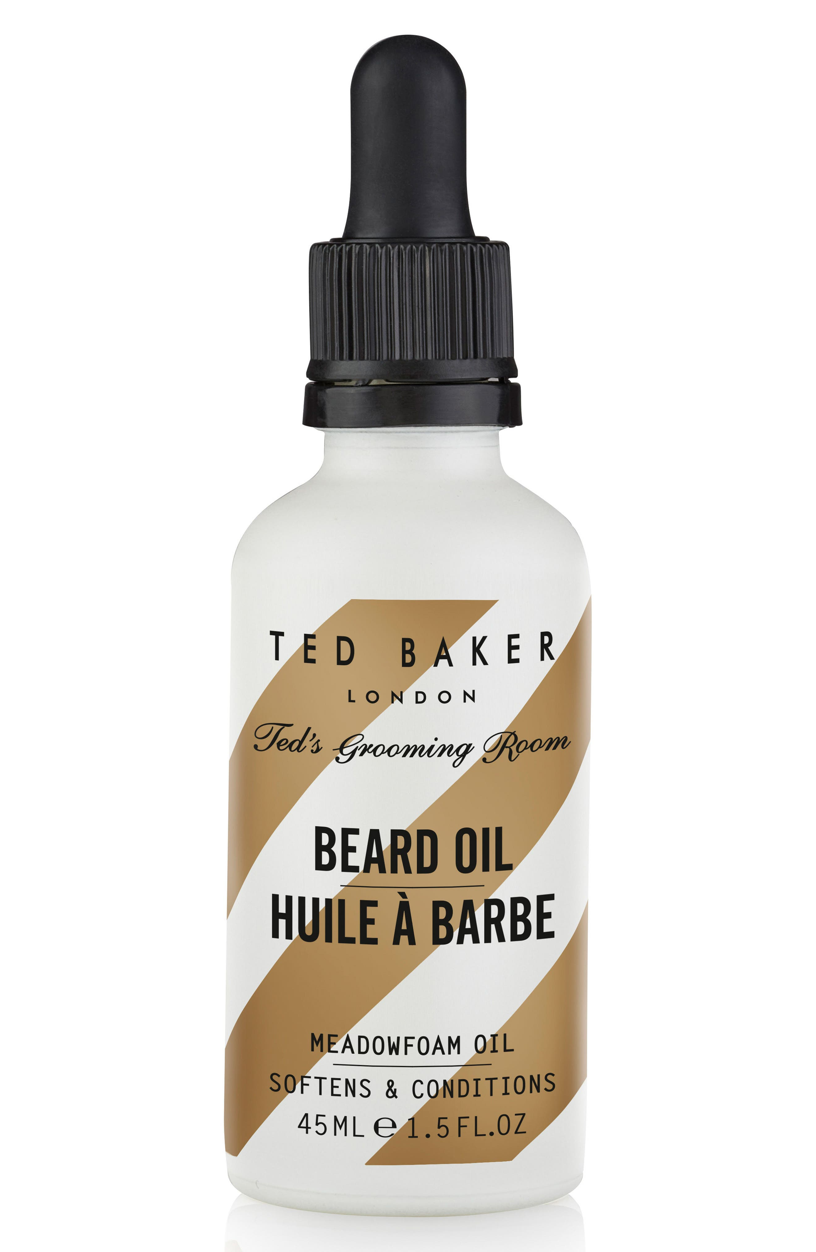 Ted's Grooming Room Beard Oil,                         Main,                         color, NO COLOR