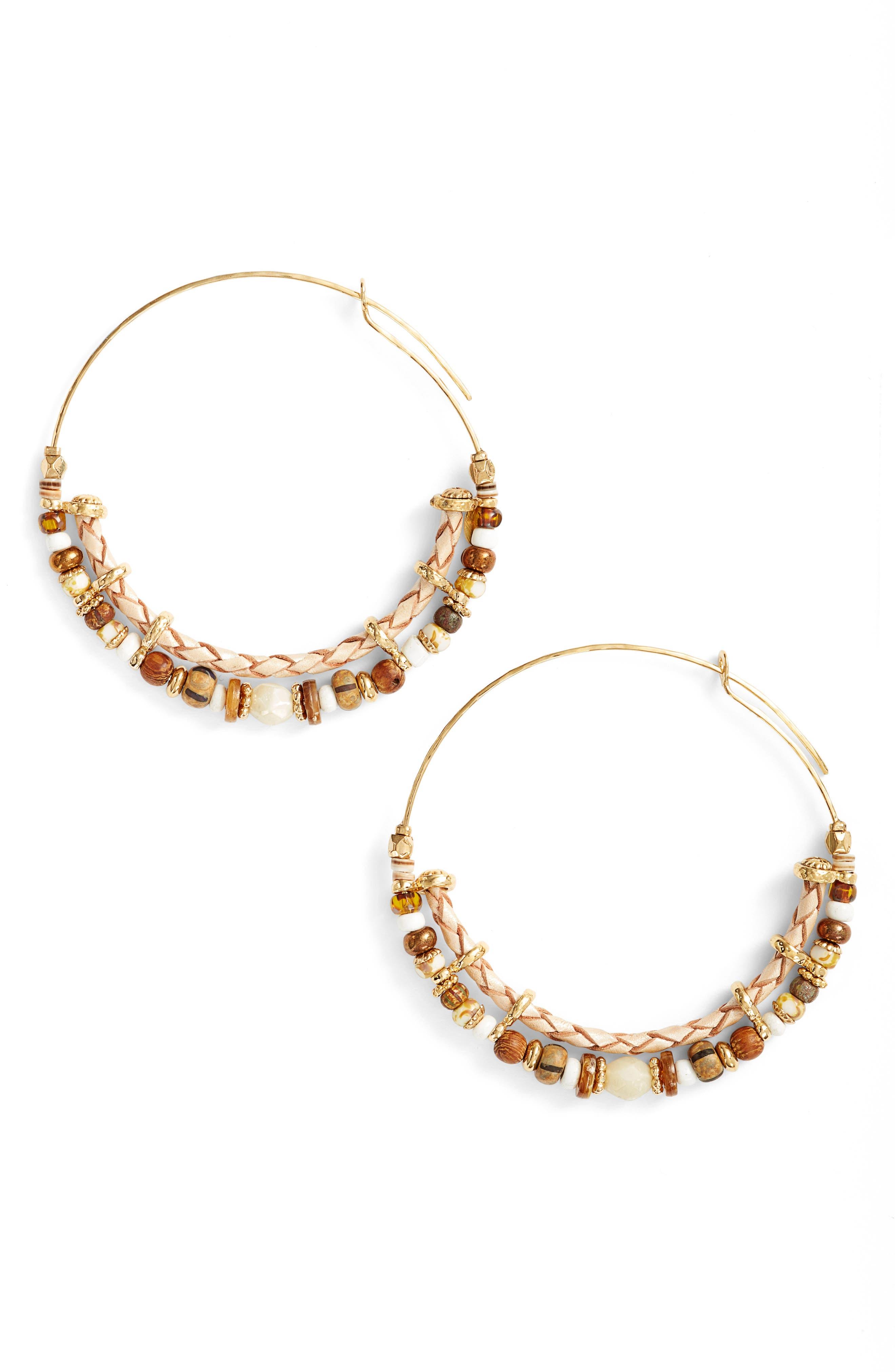 Comedia Hoop Earrings,                         Main,                         color,