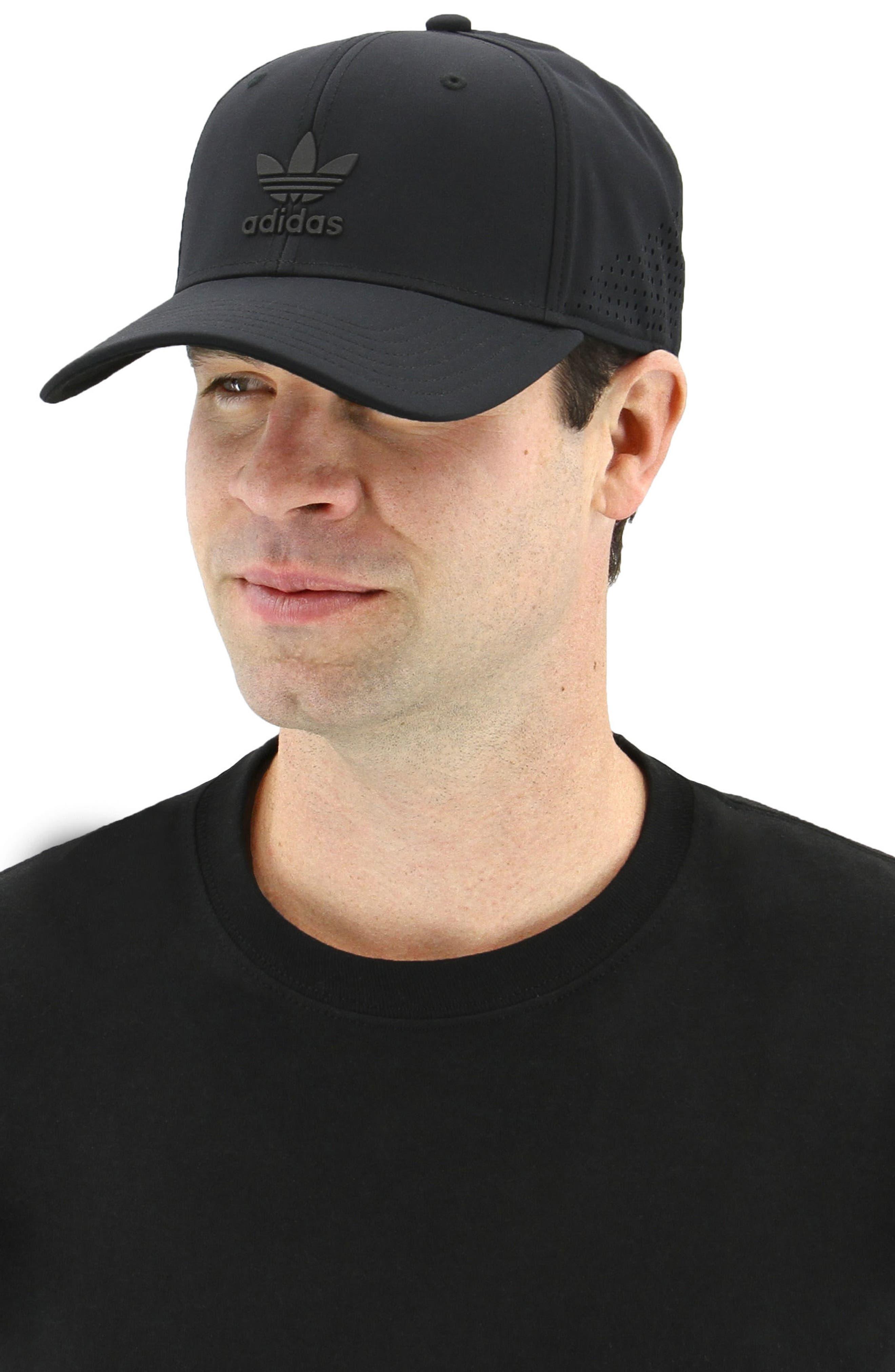 Tech Ventilated Baseball Cap,                             Alternate thumbnail 3, color,                             001
