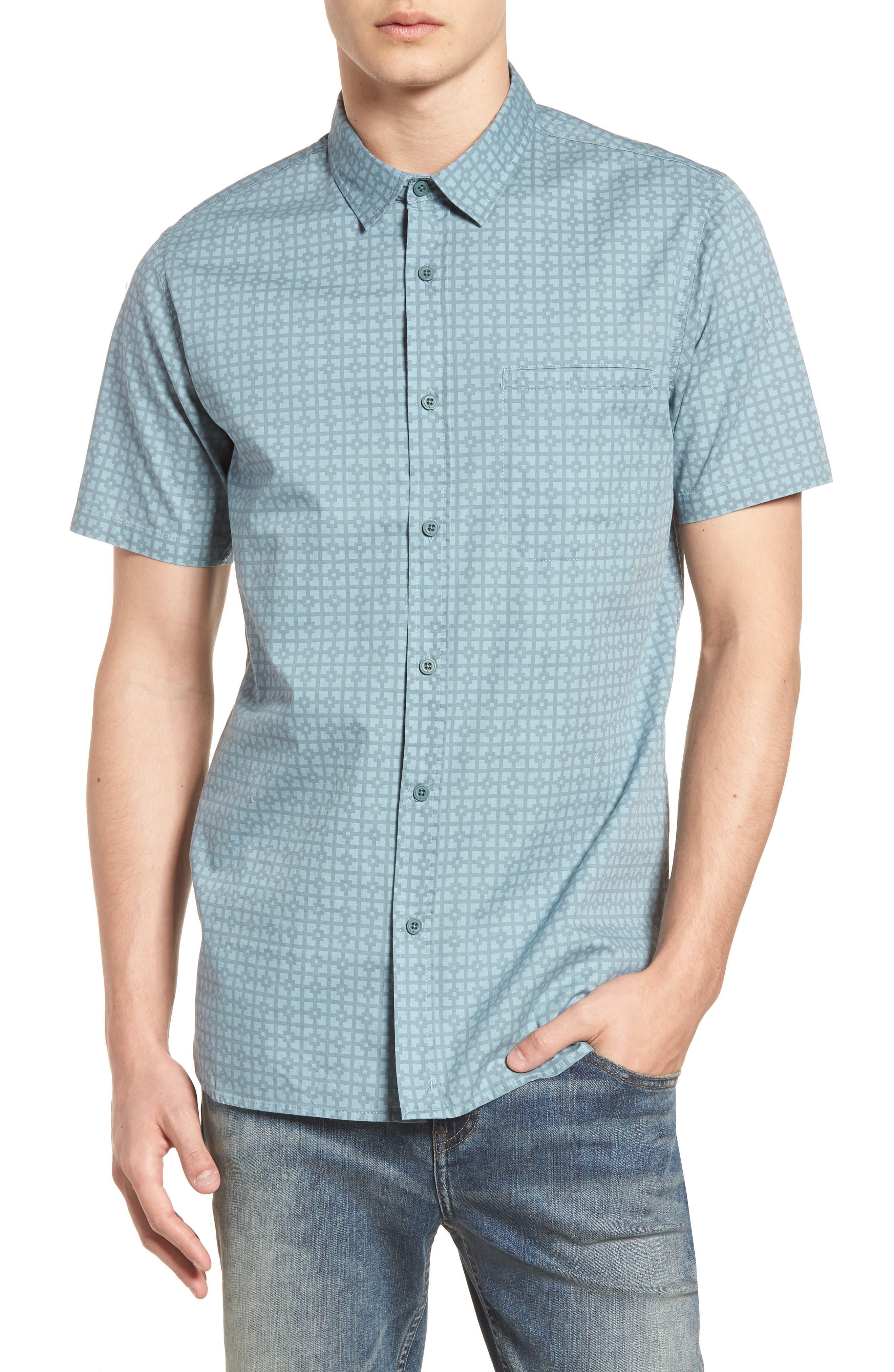 Porter Woven Shirt,                             Main thumbnail 5, color,