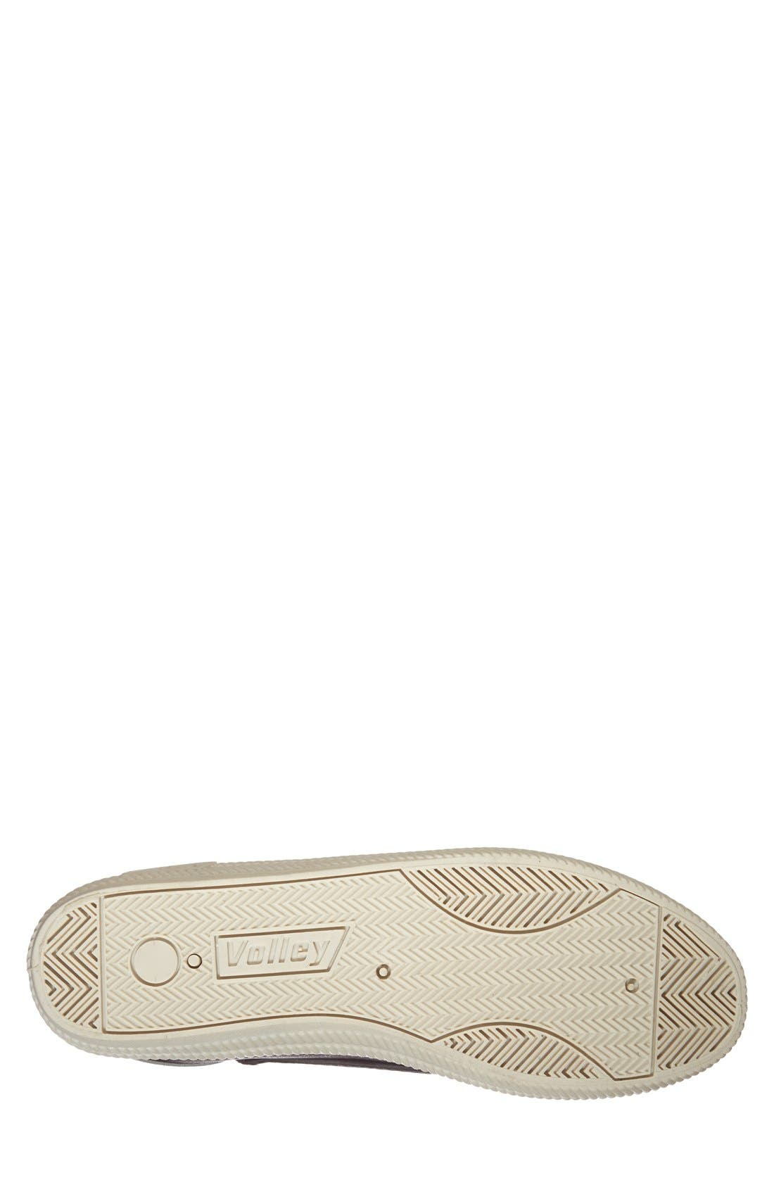 'International' Leather Sneaker,                             Alternate thumbnail 2, color,                             015