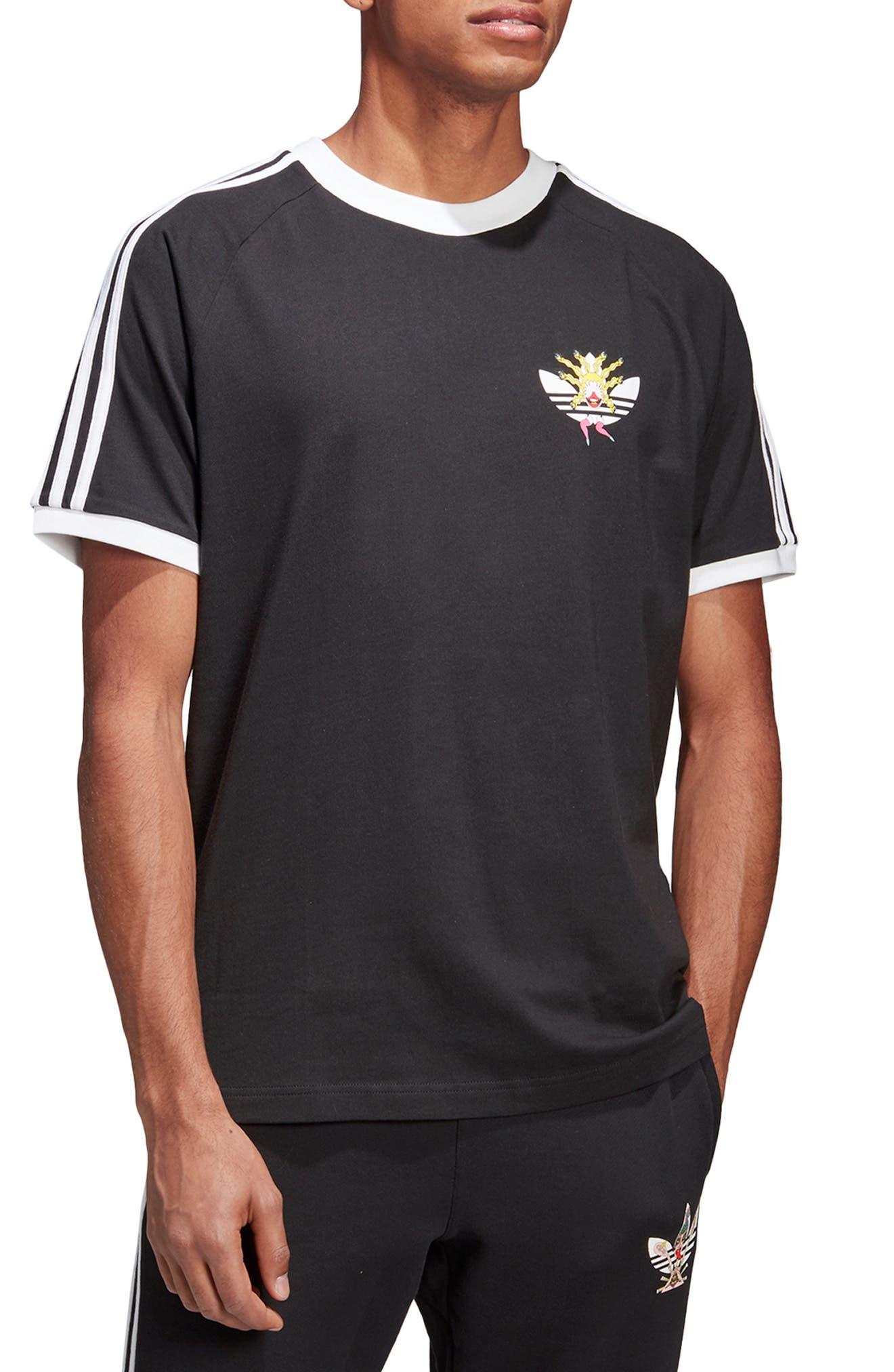 Adidas Originals Tanaami Cali Logo T-Shirt, Black