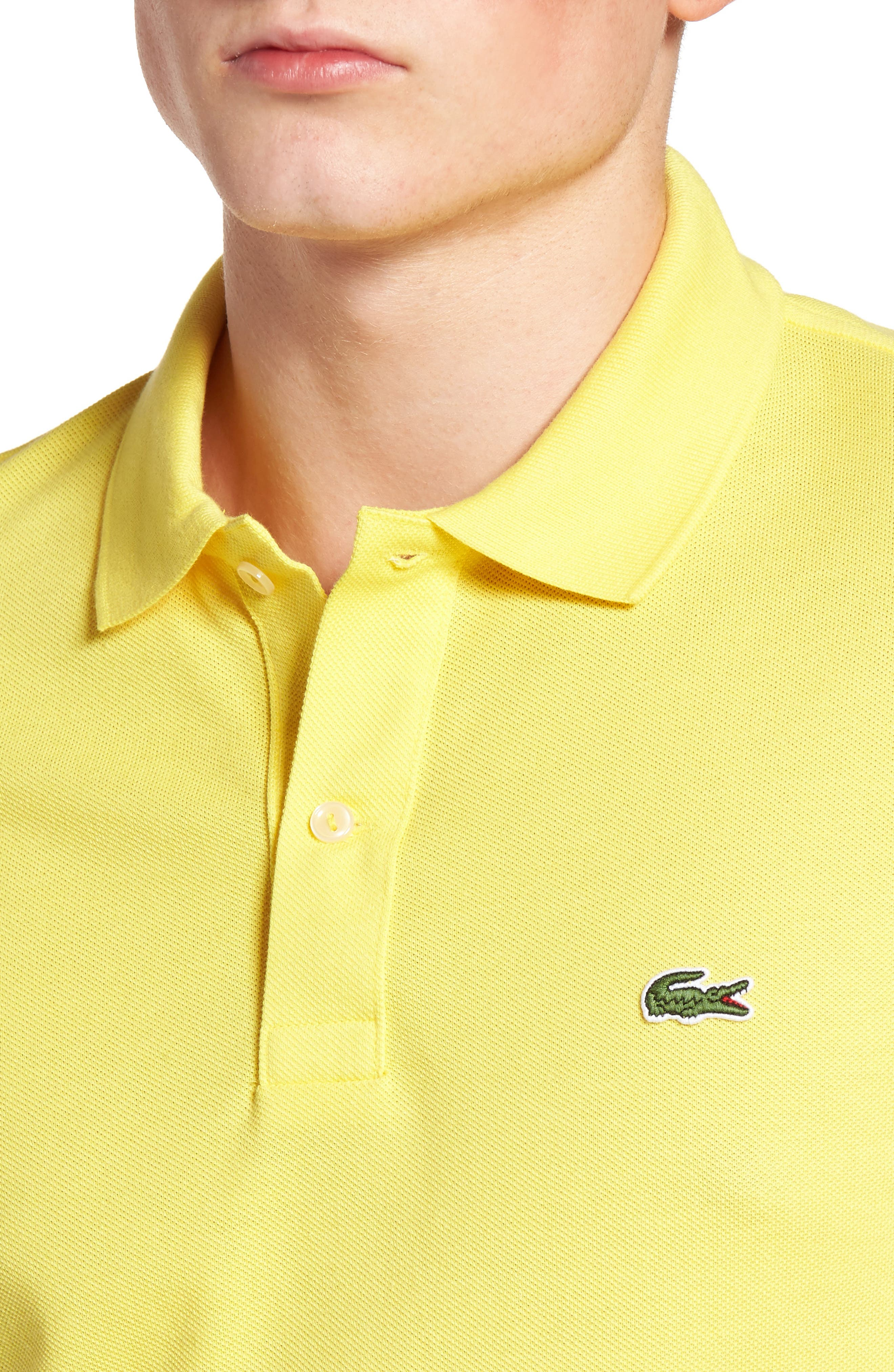 Slim Fit Piqué Polo,                             Alternate thumbnail 48, color,