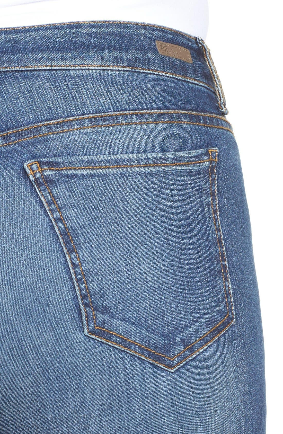 Mia Toothpick Stretch Skinny Jeans,                             Alternate thumbnail 3, color,                             REPOSE