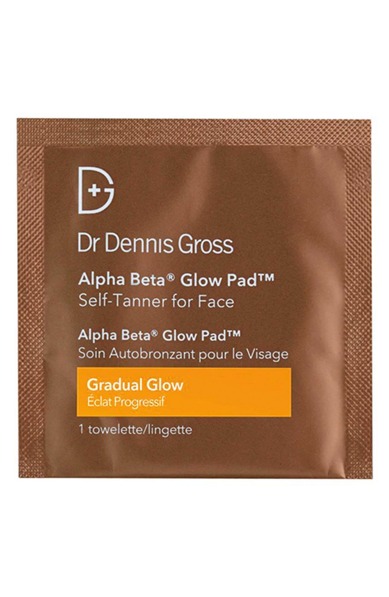 Alpha Beta<sup>®</sup> Gradual Glow Pad Self-Tanner for Face,                             Alternate thumbnail 3, color,                             NO COLOR