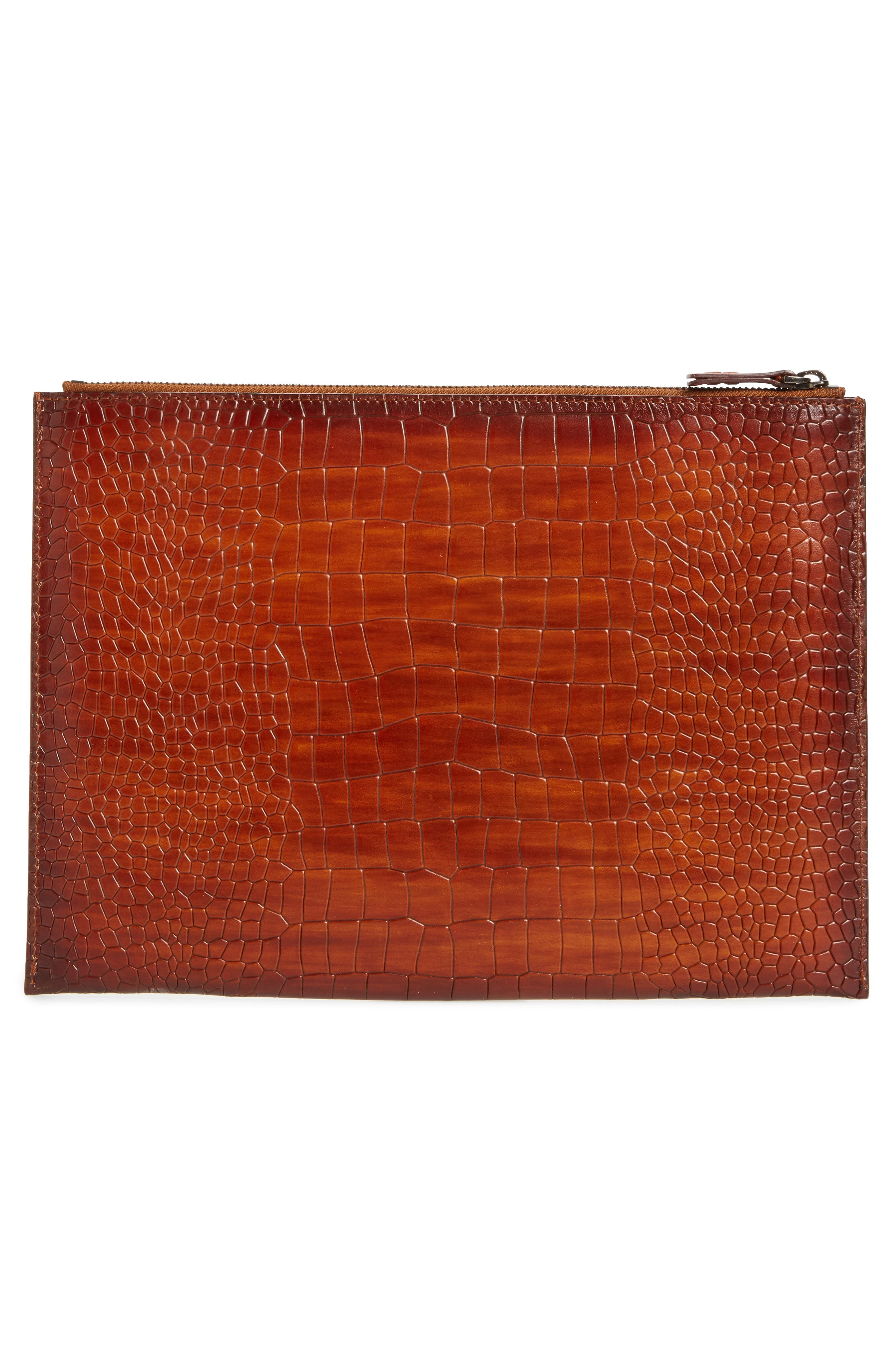 Leather Tablet Case,                             Alternate thumbnail 2, color,                             020