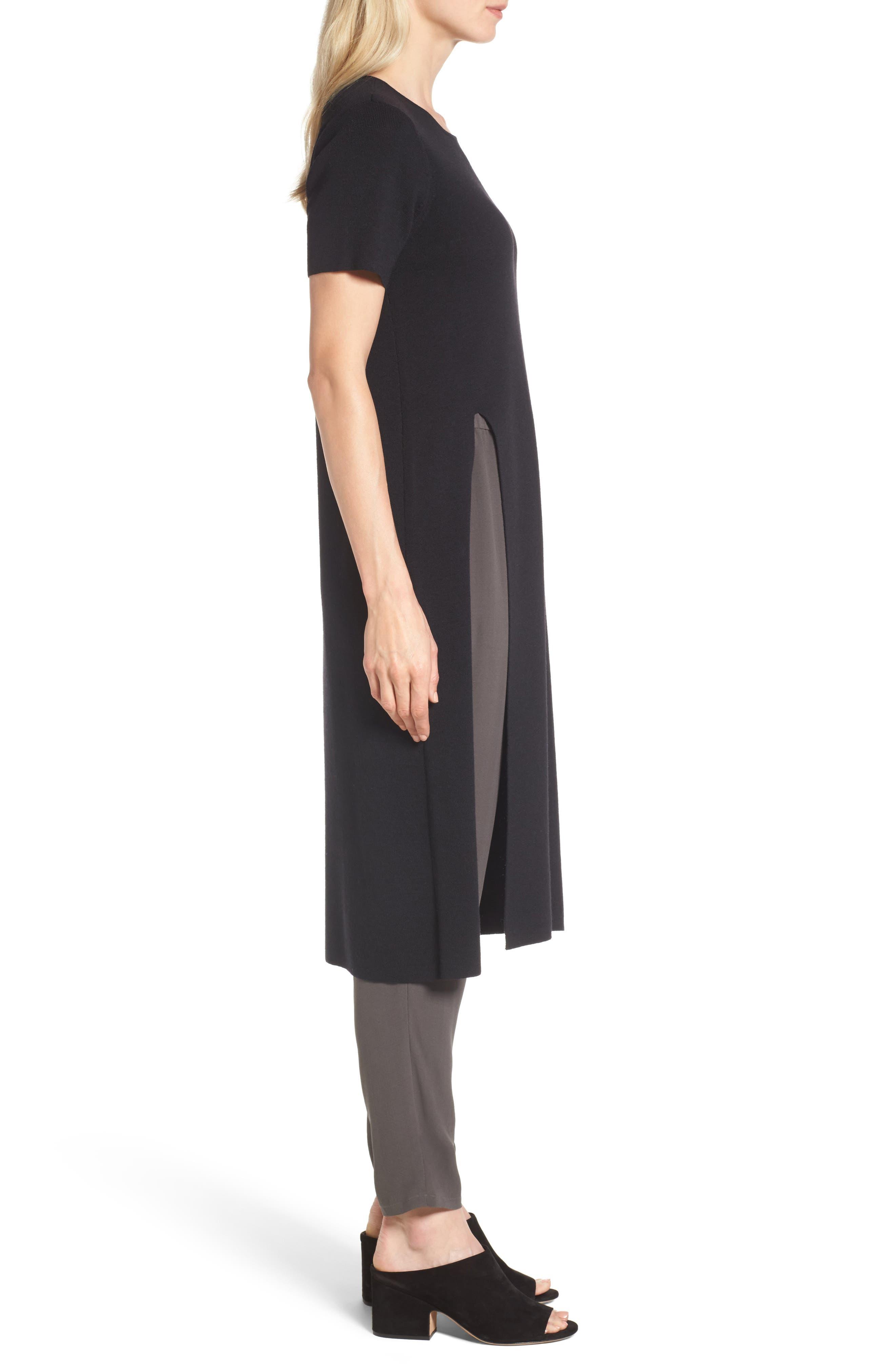 Long Wool Knit Tunic,                             Alternate thumbnail 7, color,