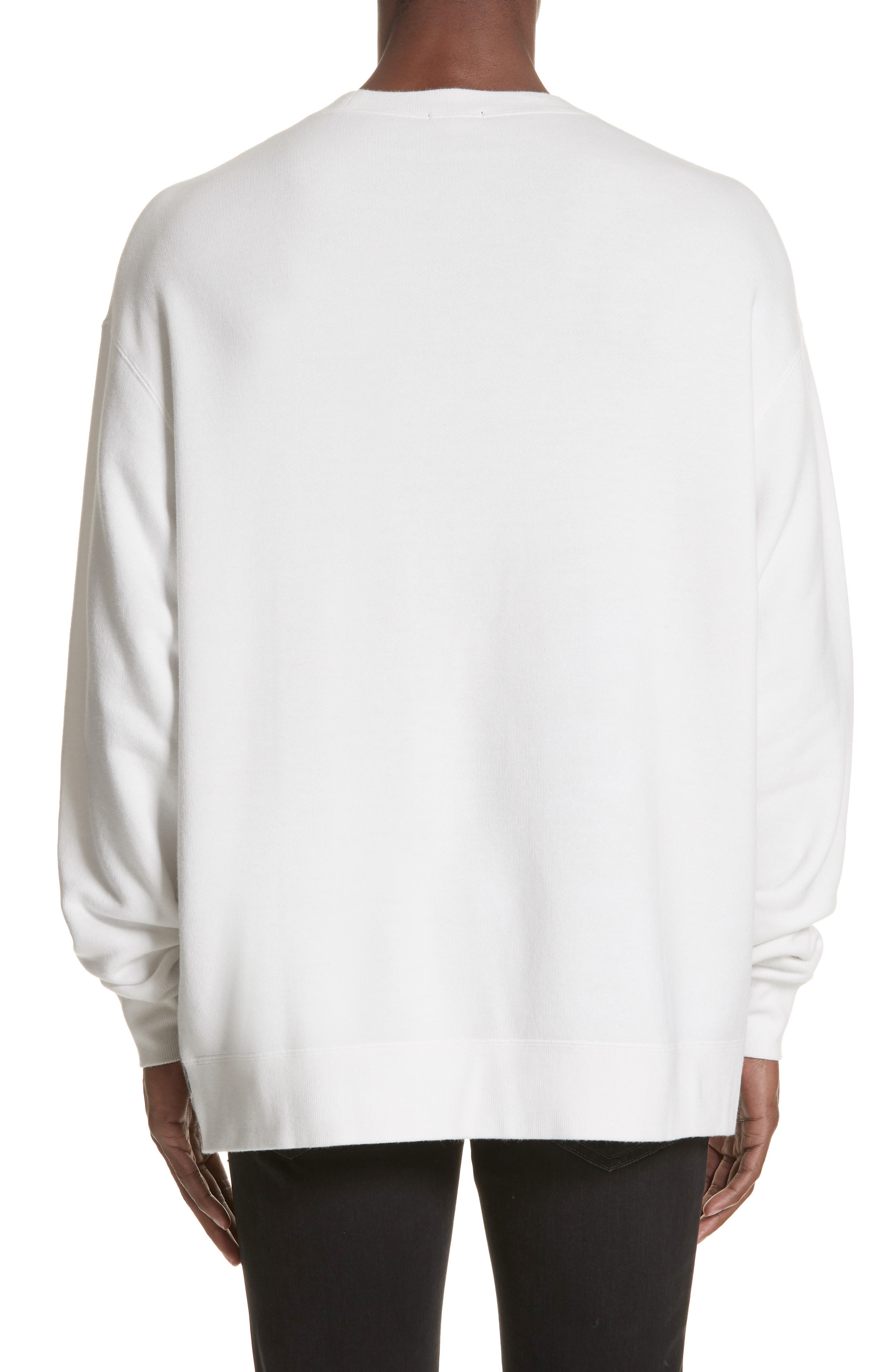 Elvis Mug Shot Sweatshirt,                             Alternate thumbnail 2, color,                             WHITE