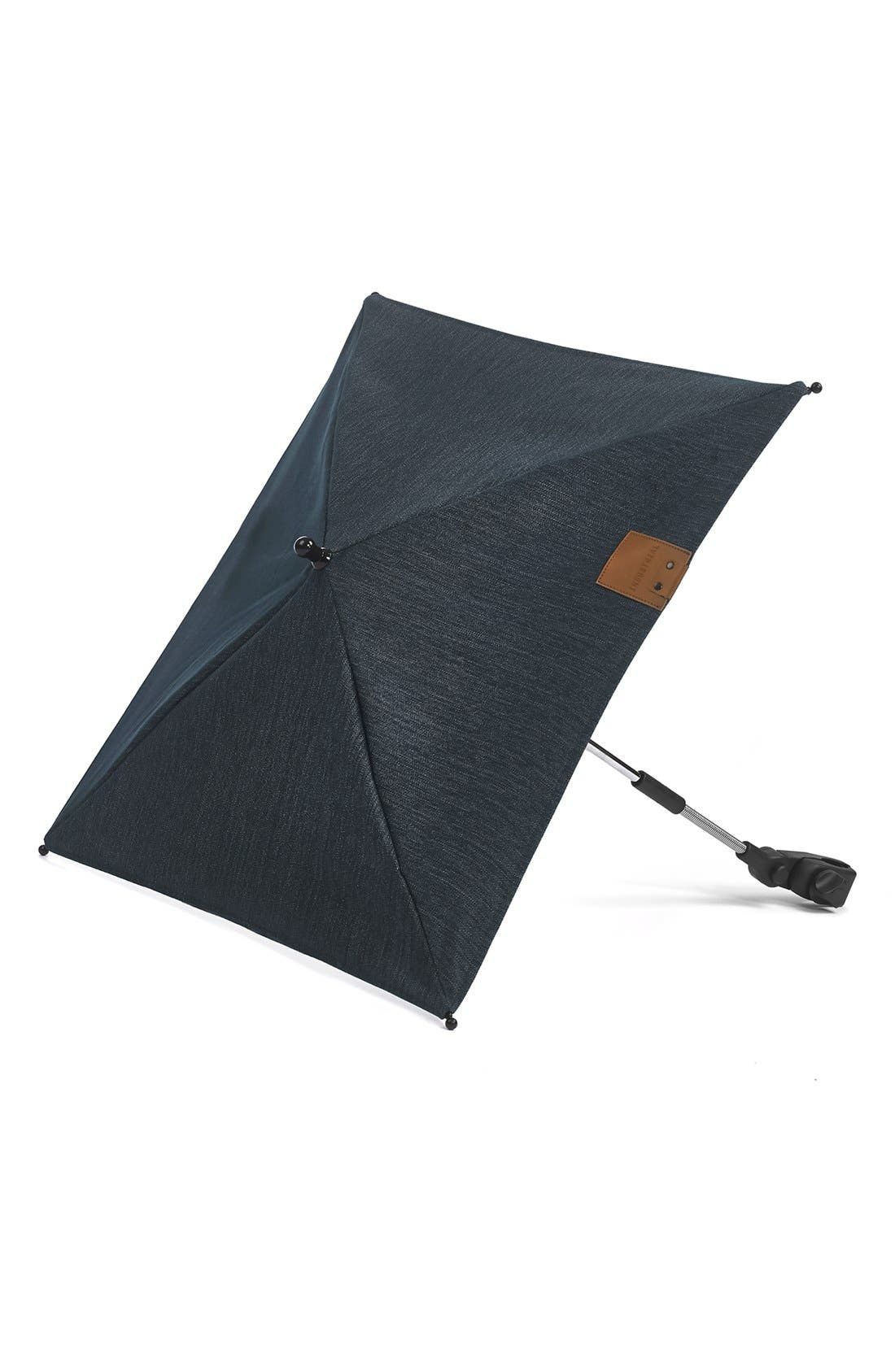 'Evo - Industrial Blue' Stroller Umbrella,                             Main thumbnail 1, color,                             400