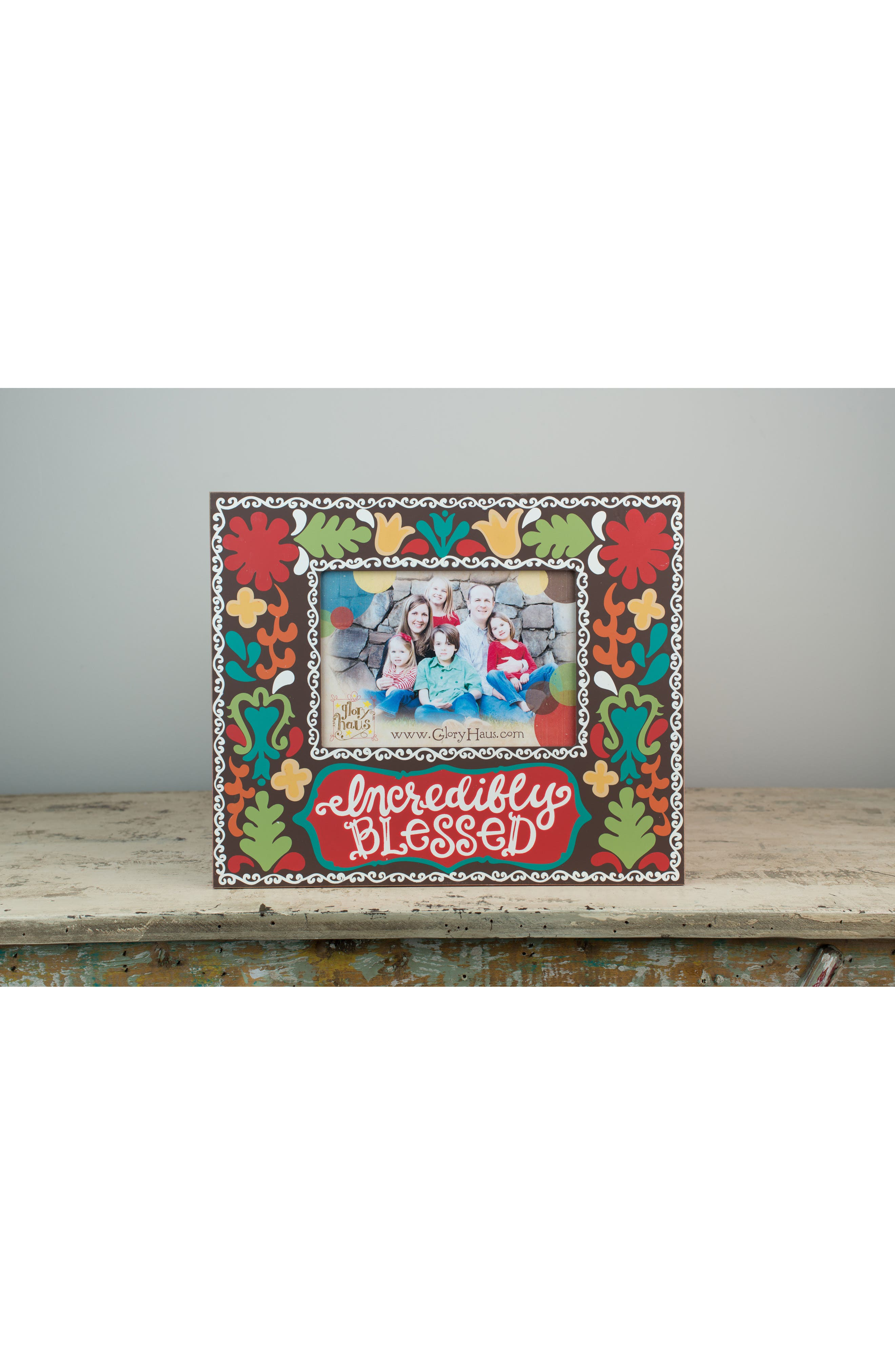 Incredibly Blessed Picture Frame,                             Alternate thumbnail 2, color,                             200
