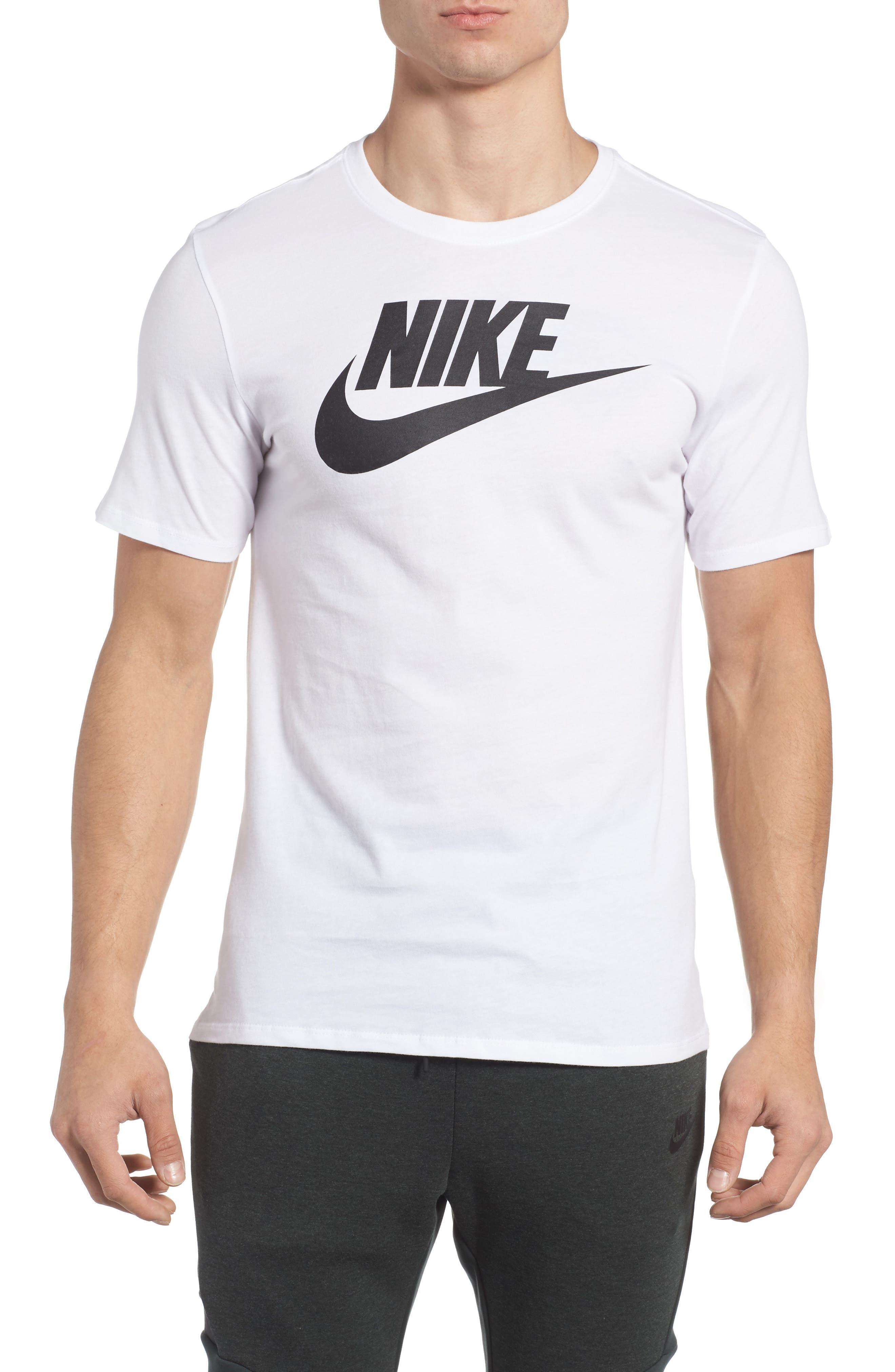 'Tee-Futura Icon' Graphic T-Shirt,                         Main,                         color, WHITE/ BLACK