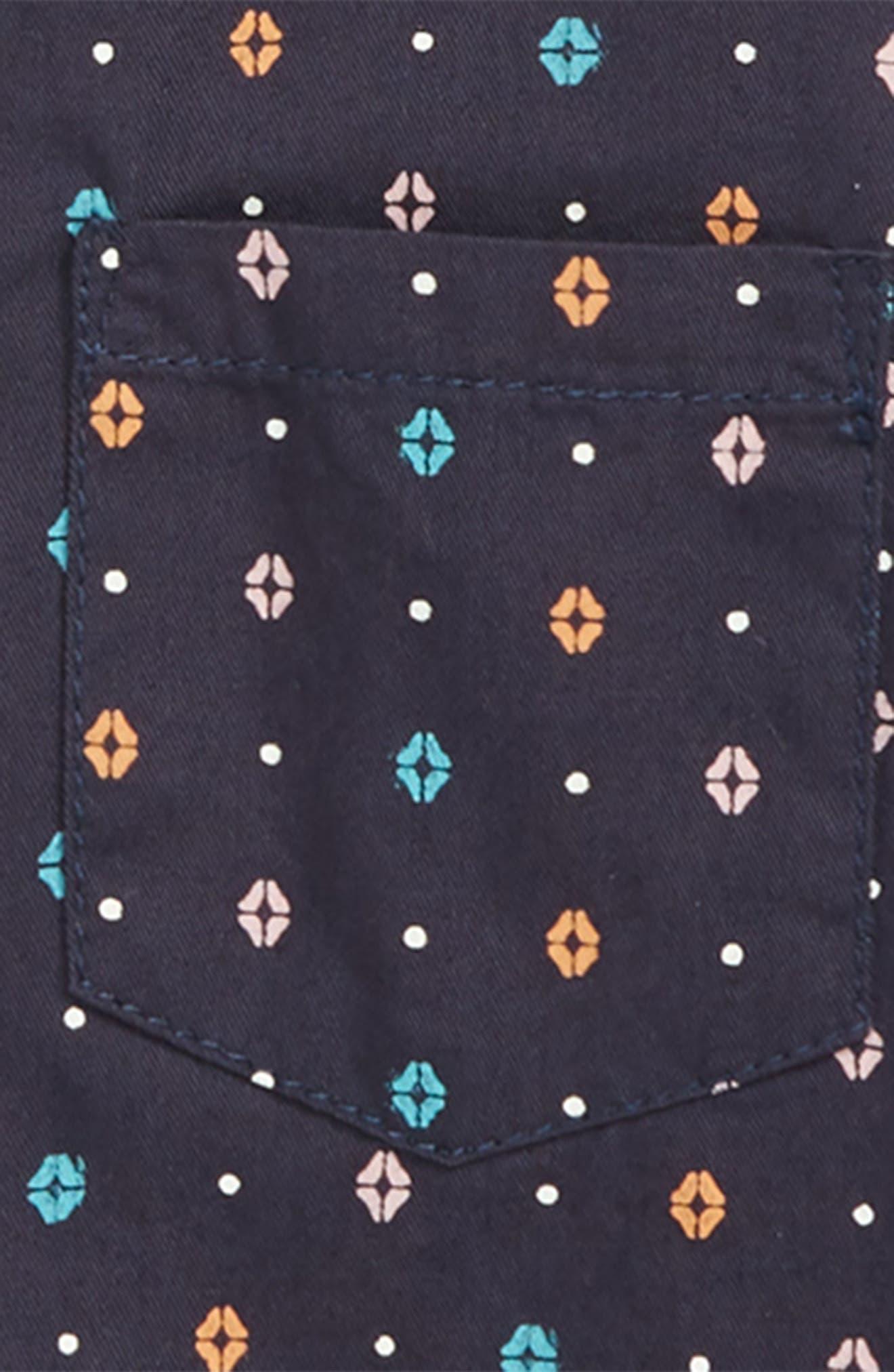 Oliver Print Woven Shirt,                             Alternate thumbnail 2, color,                             410