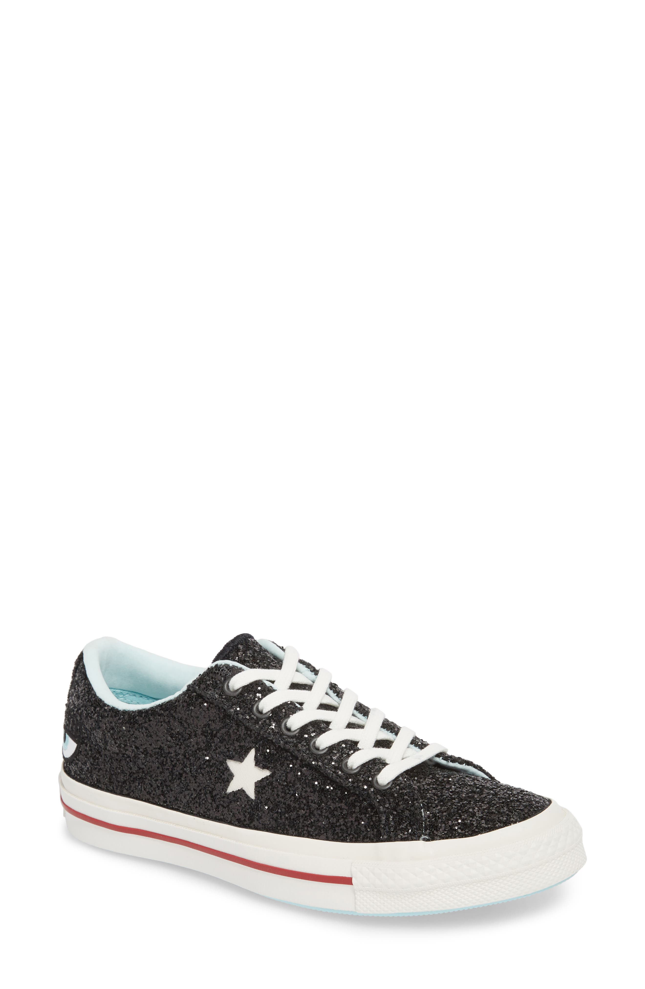 x Chiara Ferragni One Star Ox Sneaker,                             Main thumbnail 1, color,                             001