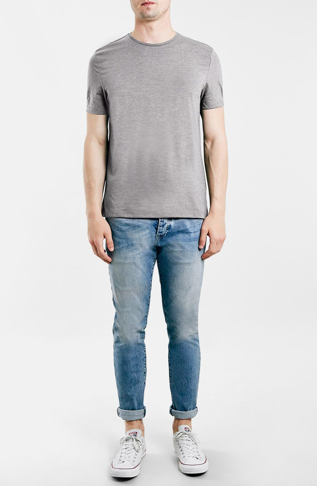 Slim Fit Crewneck T-Shirt,                             Alternate thumbnail 320, color,