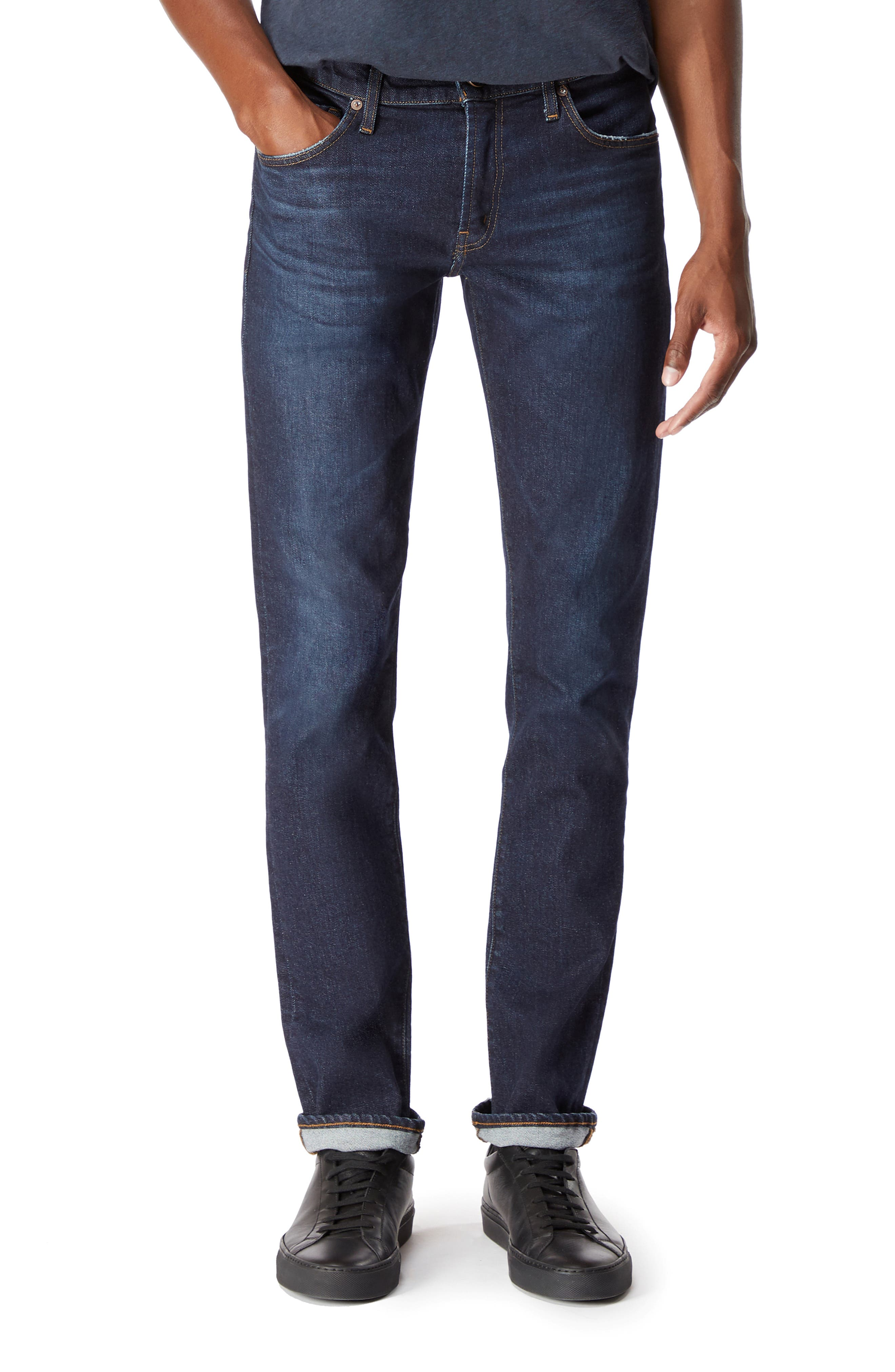 Tyler Slim Fit Jeans,                             Main thumbnail 1, color,                             DARK DIFFUSION