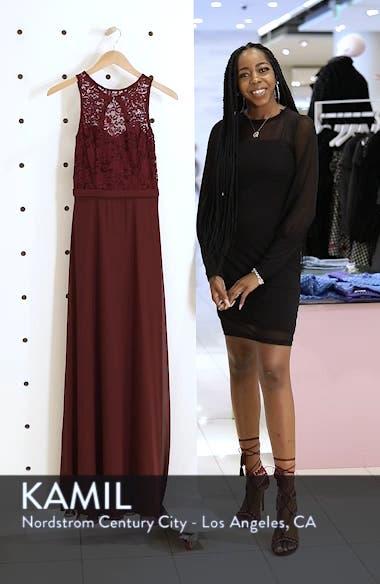 Lace Bodice Chiffon Gown, sales video thumbnail