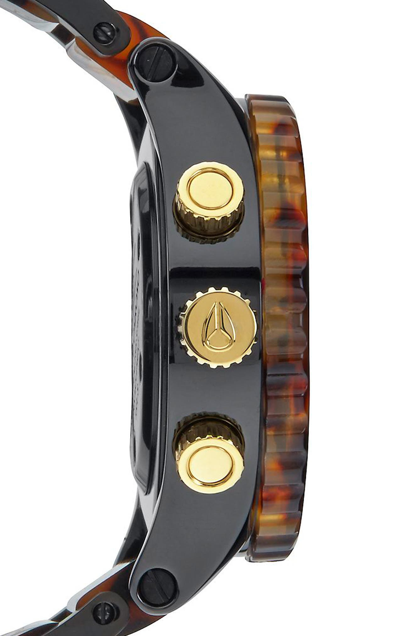 'The 38-20' Extra Large Chronograph Bracelet Watch, 38mm,                             Alternate thumbnail 3, color,                             200