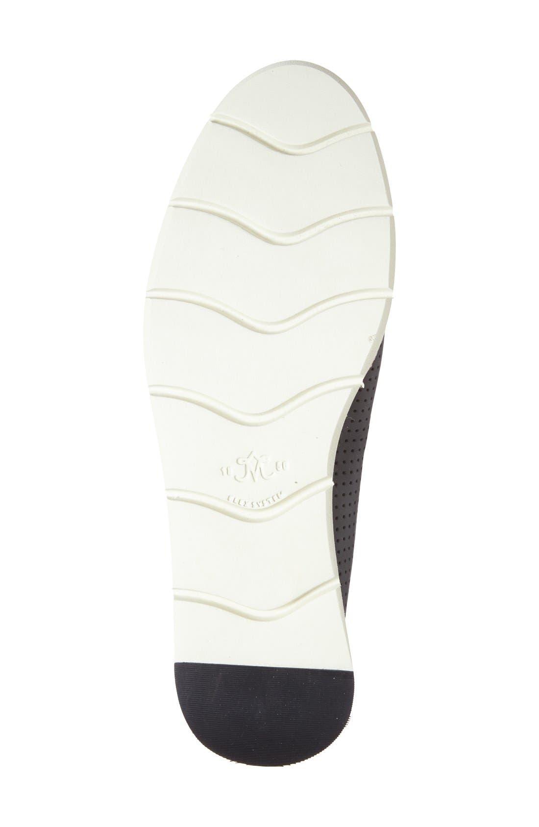 'Paulette' Slip-On Sneaker,                             Alternate thumbnail 4, color,                             BLACK