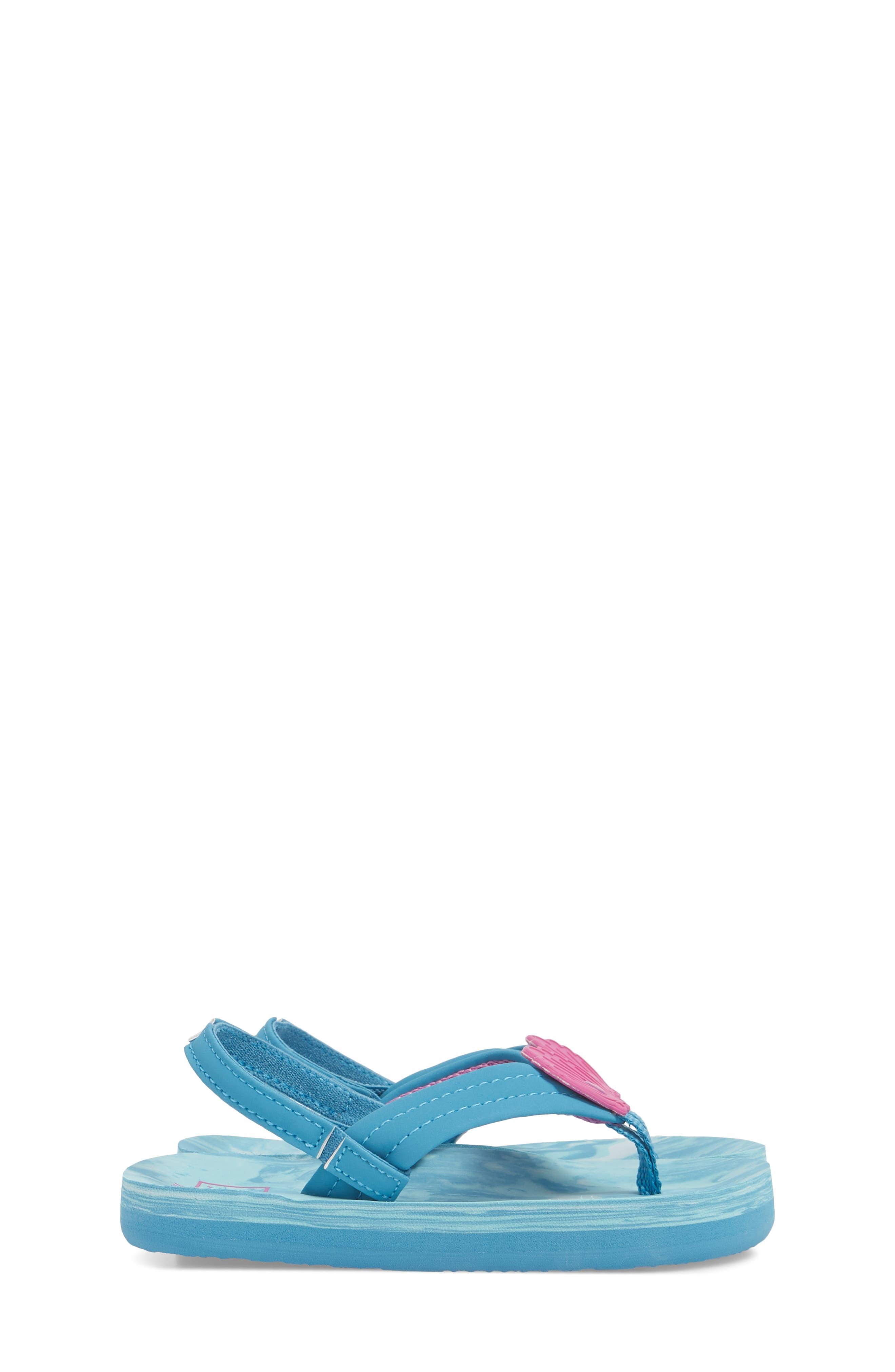 Little Ahi Swirl Flip Flop,                             Alternate thumbnail 4, color,                             423