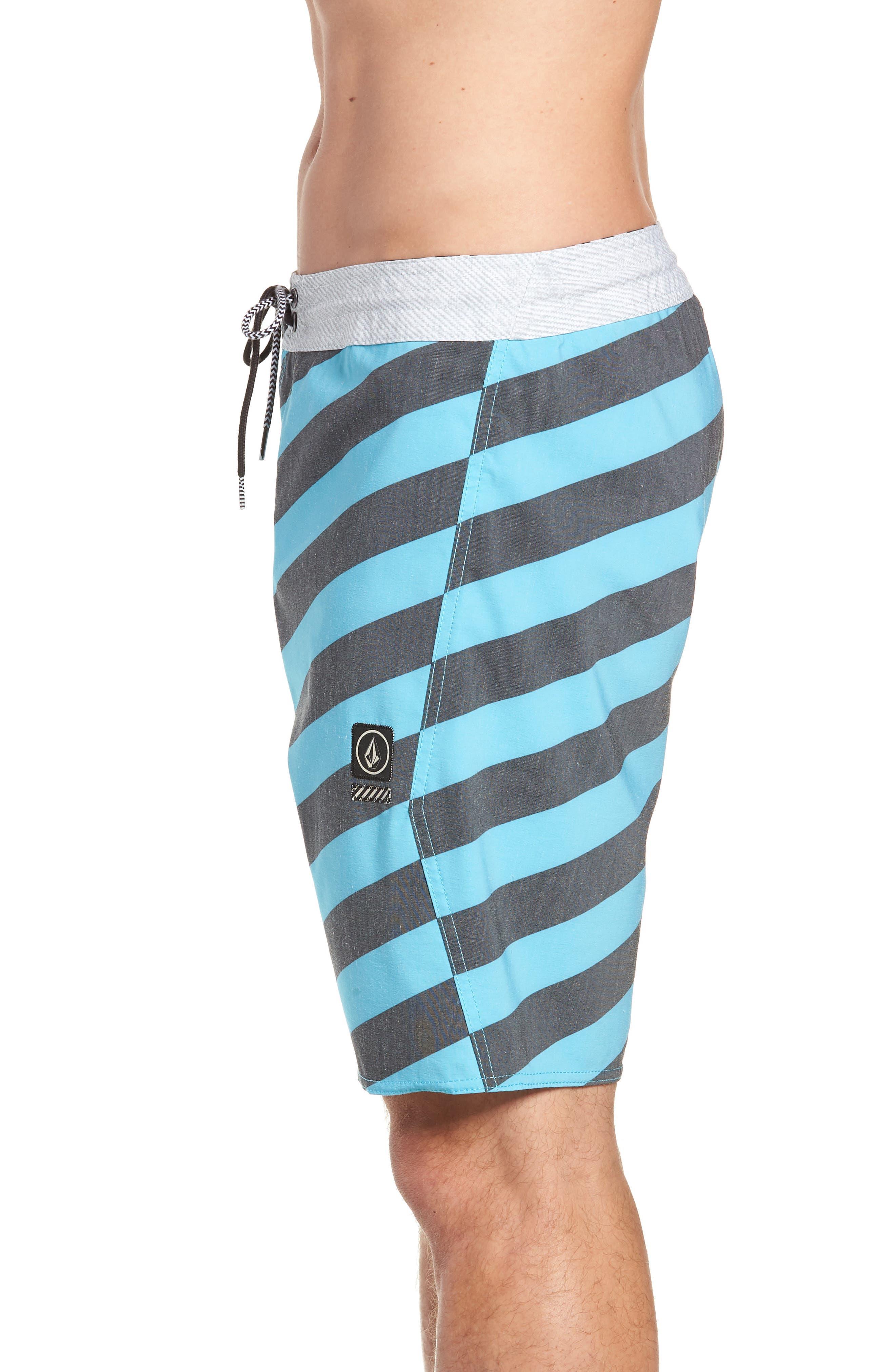 Stripey Stoney Boardshorts,                             Alternate thumbnail 3, color,                             470