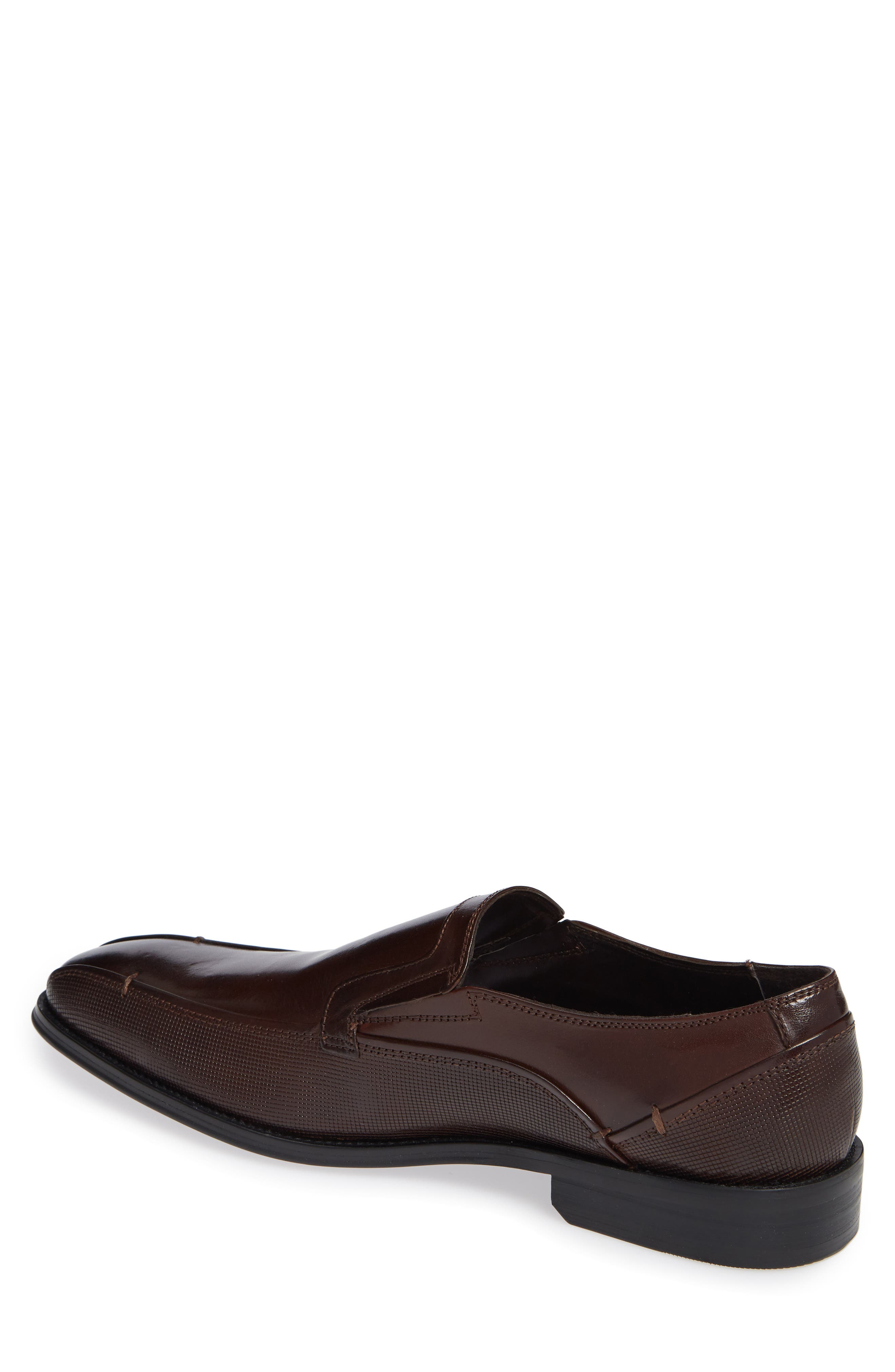 Witter Bike Toe Loafer,                             Alternate thumbnail 2, color,                             BROWN LEATHER