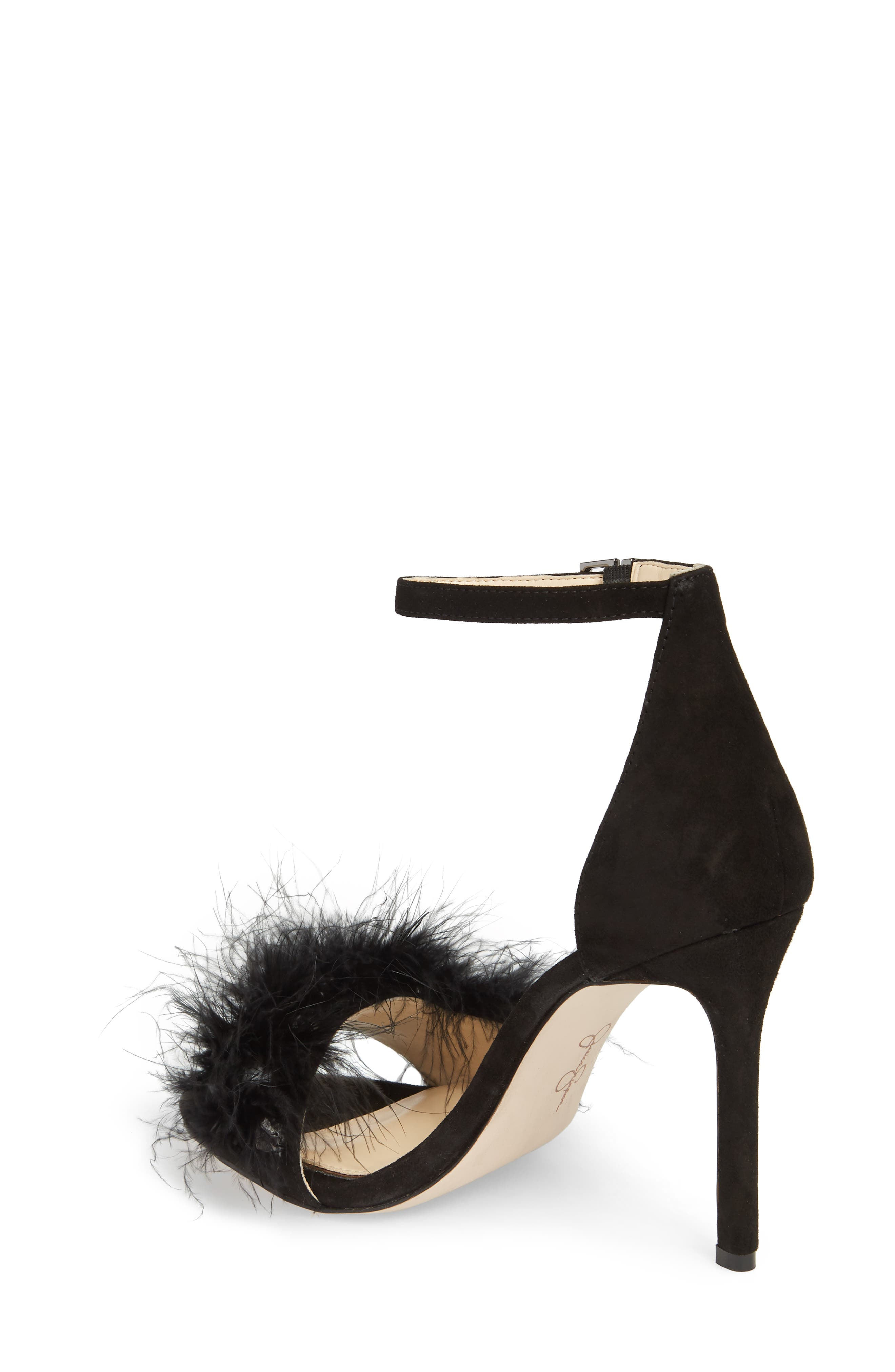 Jolinda Feathered Sandal,                             Alternate thumbnail 3, color,