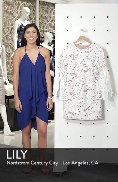 Dylan Crochet Shift Dress, sales video thumbnail