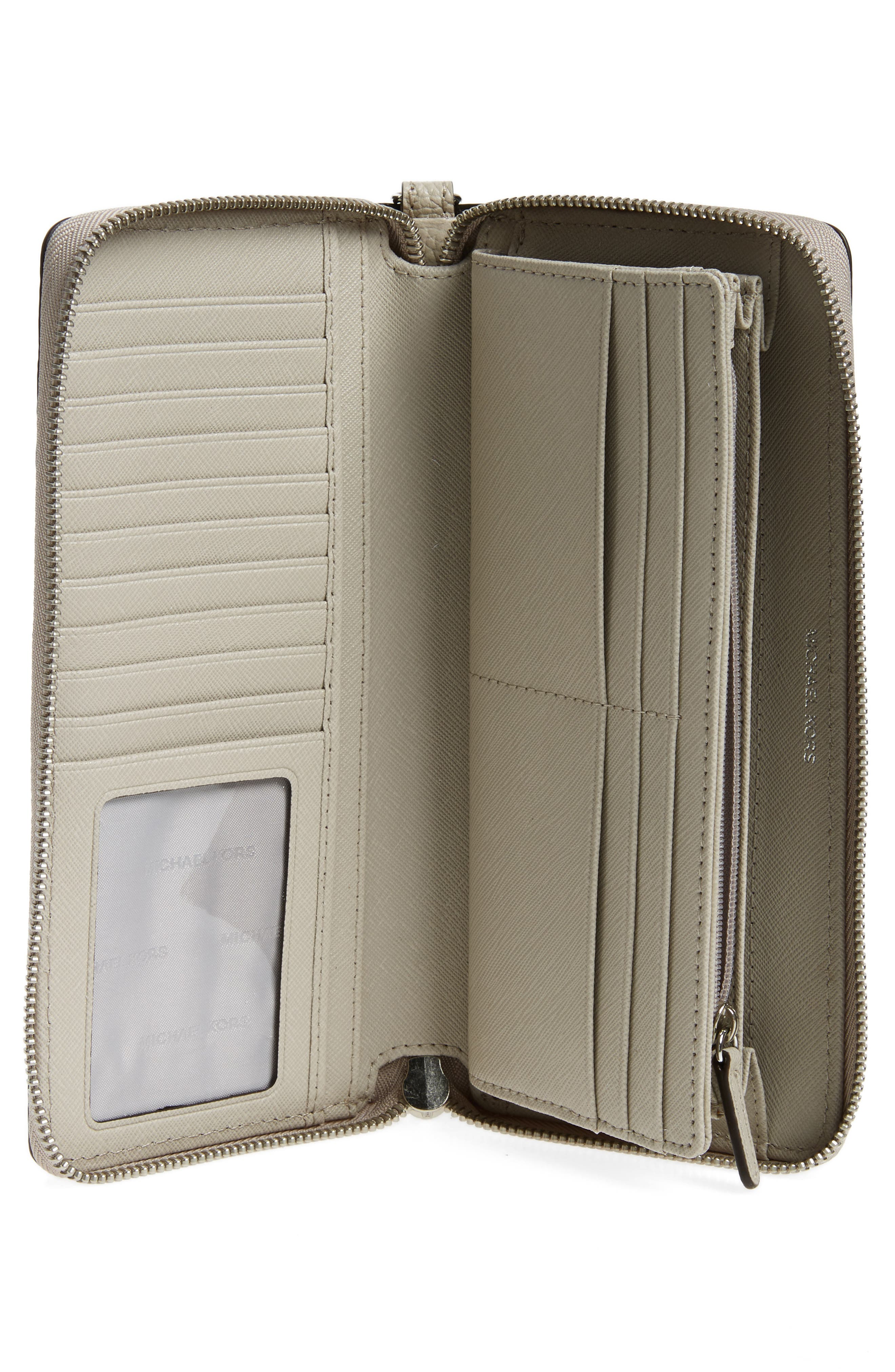 'Mercer' Leather Continental Wallet,                             Alternate thumbnail 13, color,