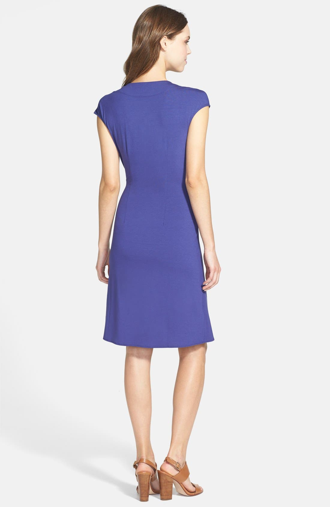 'Tambour' Side Gathered Dress,                             Alternate thumbnail 21, color,