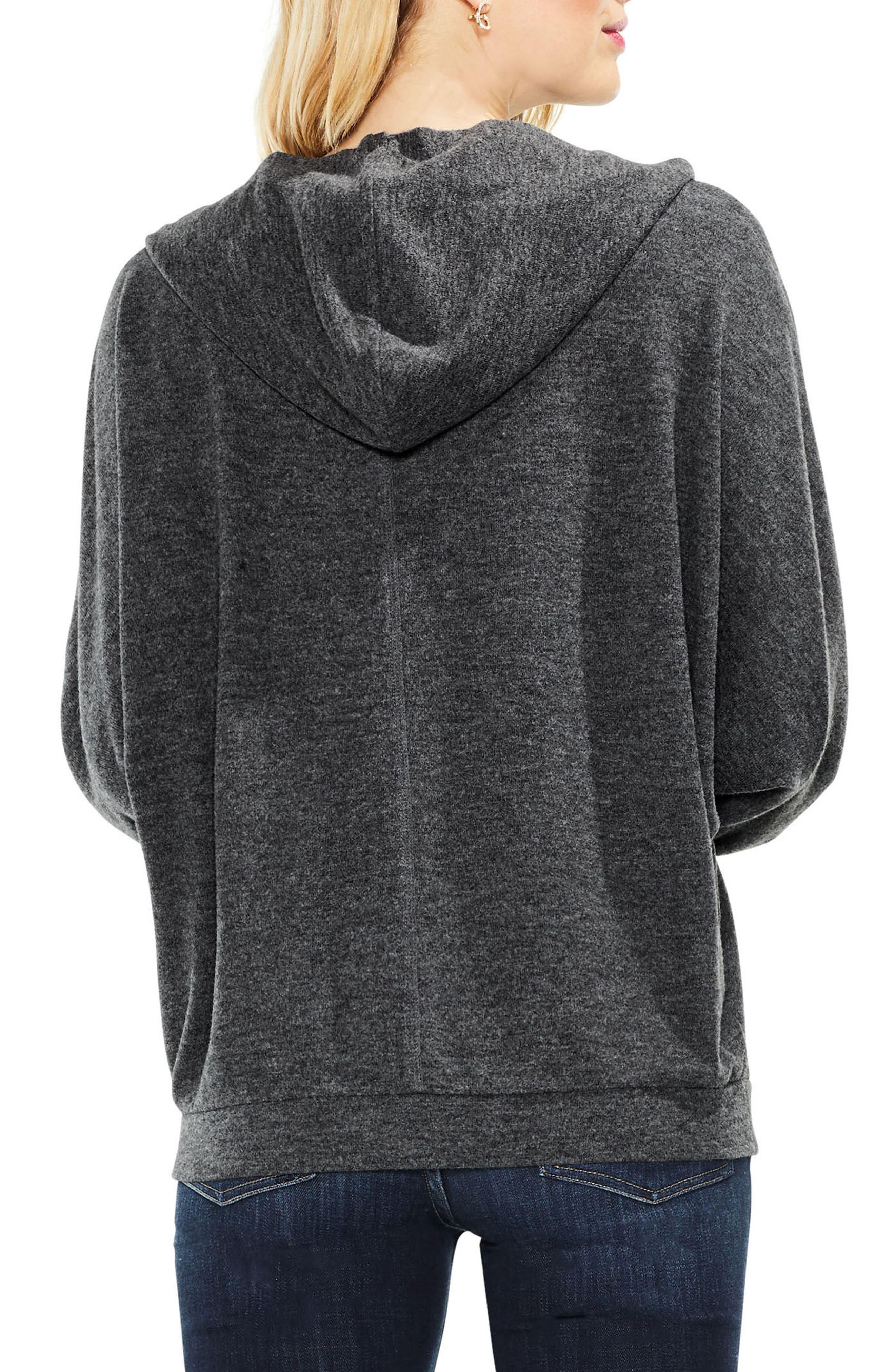 Dolman Sleeve Brushed Jersey Hoodie,                             Alternate thumbnail 2, color,                             023